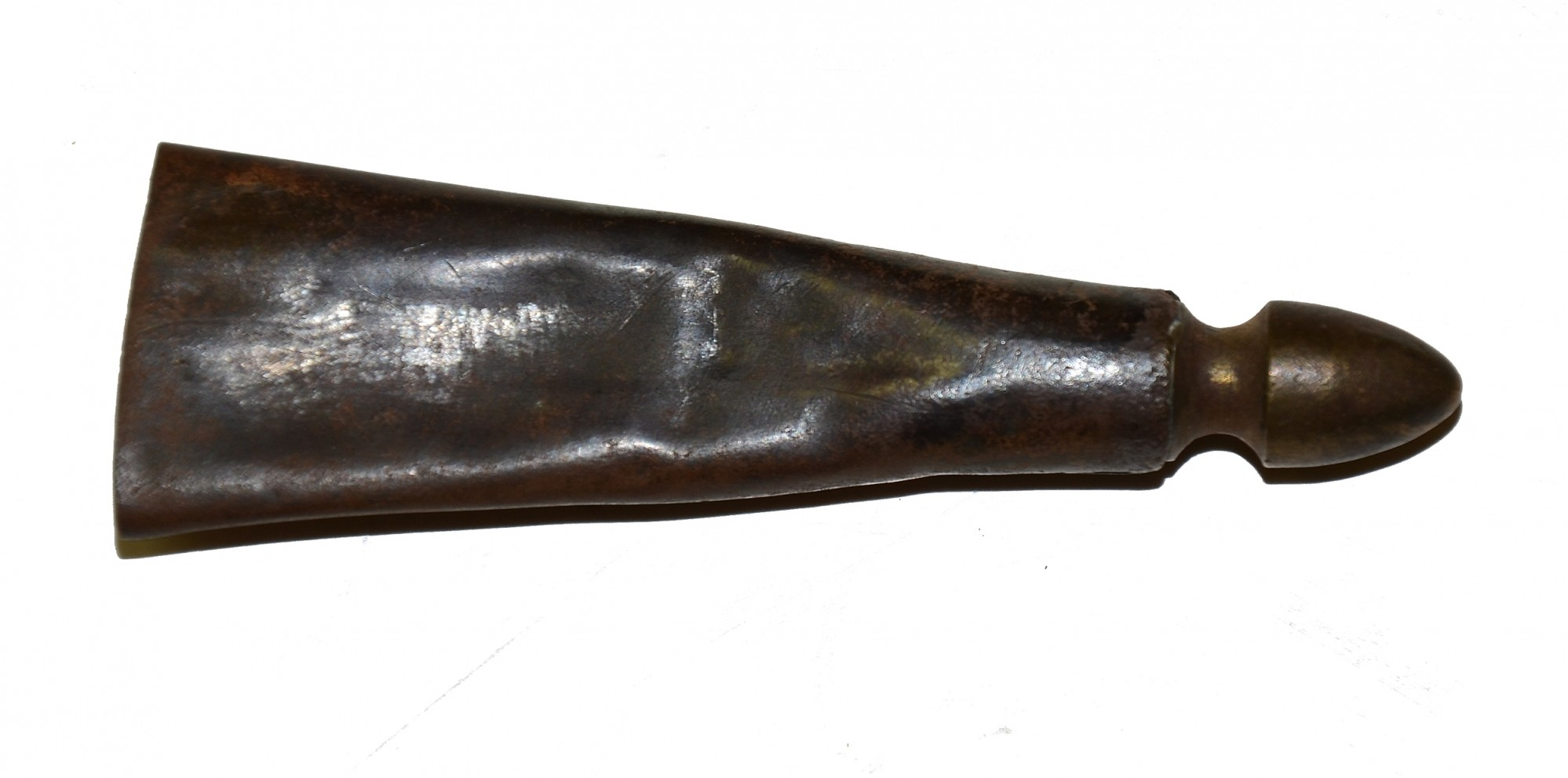 BAYONET SCABBARD TIP RECOVERED NEAR WILLOUGHBY RUN – GETTYSBURG
