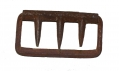 IRON SUSPENDER BUCKLE RECOVERED NEAR WILLOUGHBY RUN – GETTYSBURG