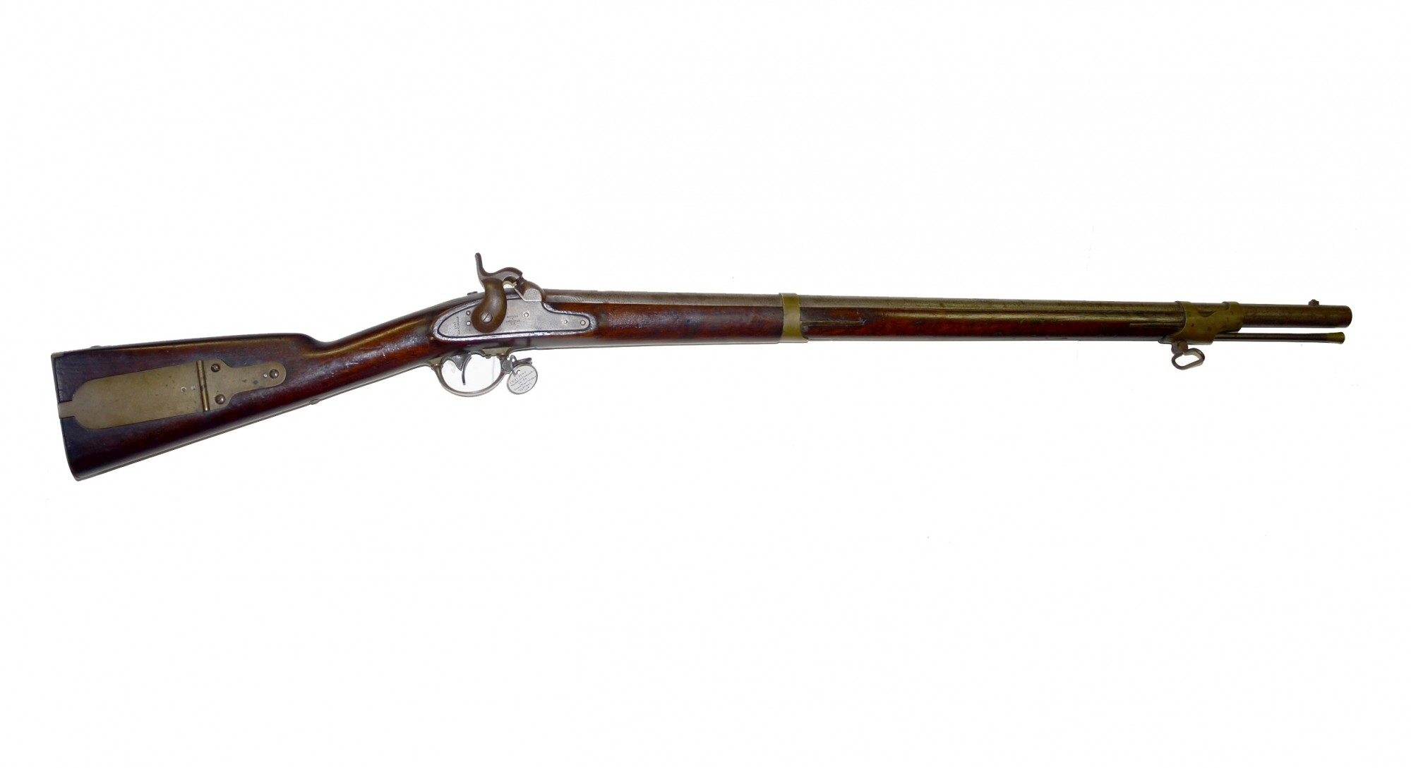 "US MODEL 1841 ""MISSISSIPPI"" RIFLE IDENTIFIED TO PVT. JONATHAN S. HIGGINS, CO. K & F, 46TH MASSACHUSETTS INFANTRY"