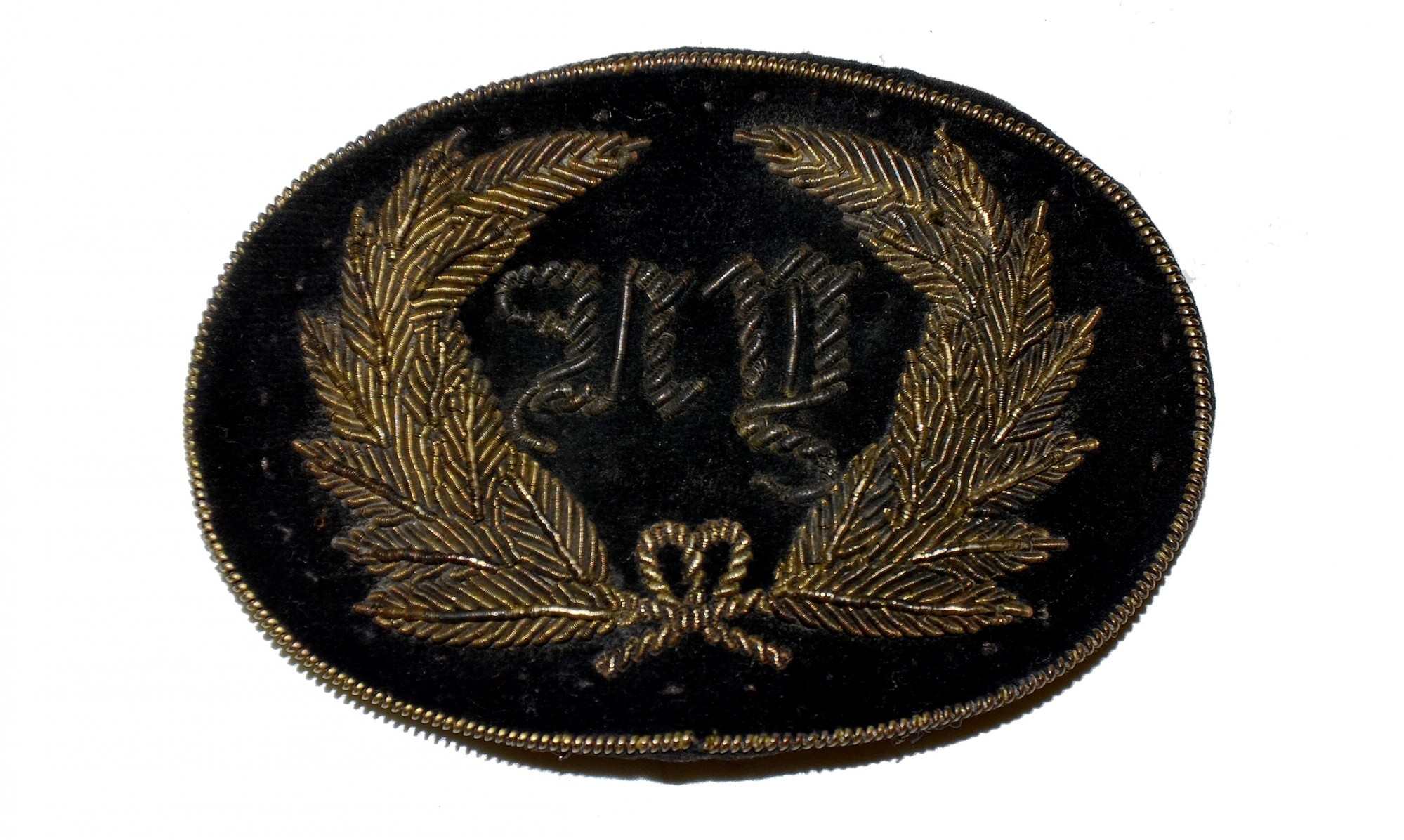 NEW YORK CIVIL WAR OFFICER'S HAT INSIGNIA