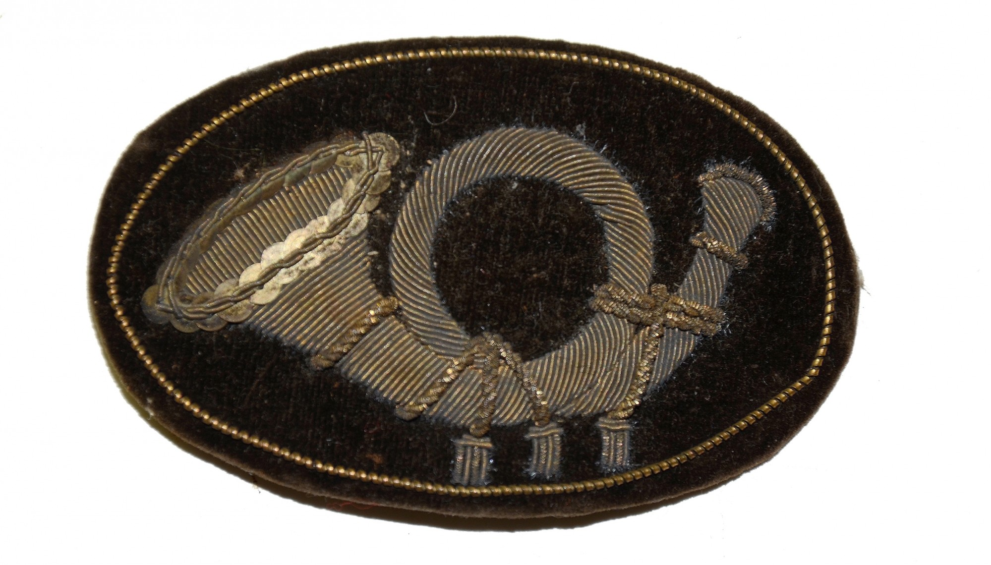 CIVIL WAR INFANTRY OFFICER'S HAT INSIGNIA