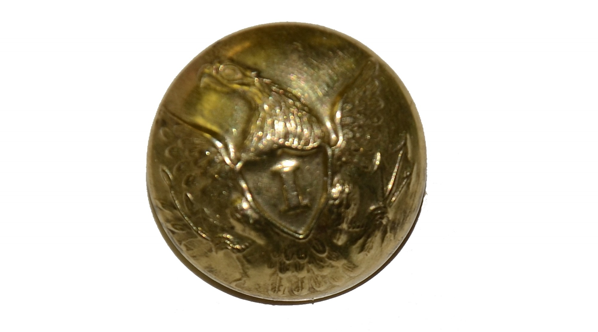 "VERY NICE CONDITIONED INFANTRY ""I"" EAGLE BUTTON"