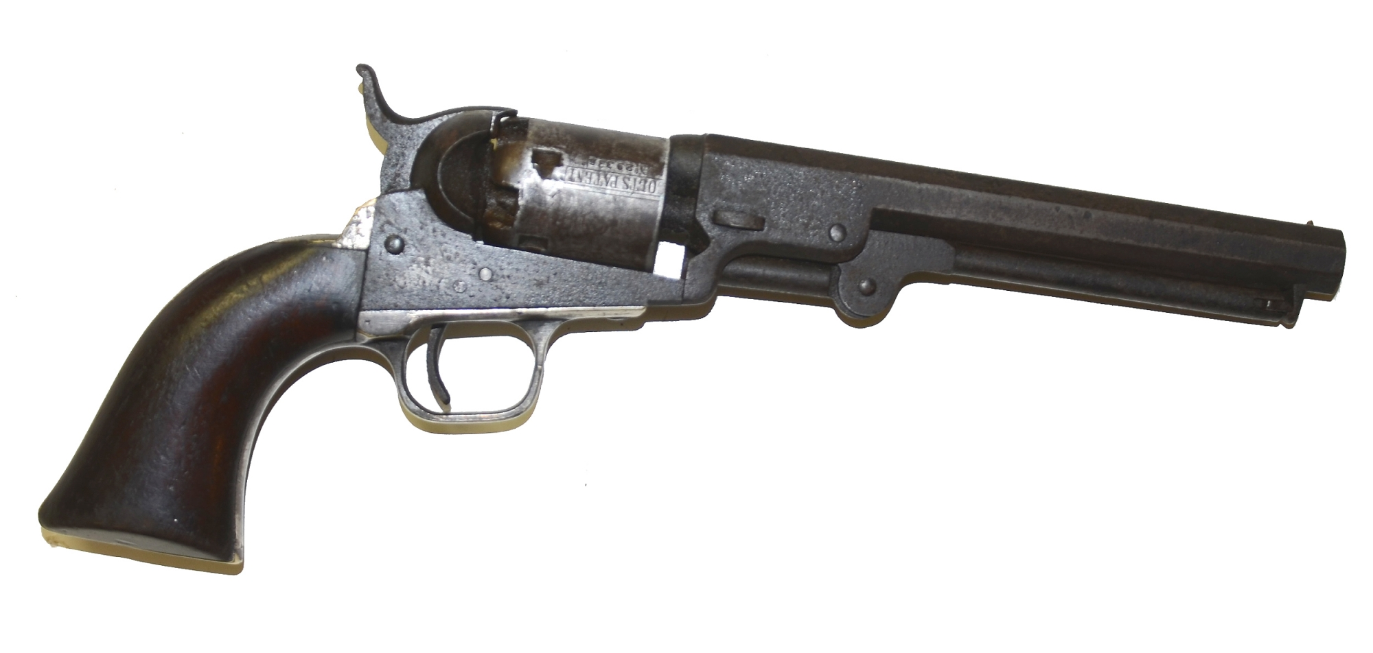 IDENTIFIED M1849 COLT POCKET REVOLVER WITH ALL MATCHING SERIAL NUMBERS