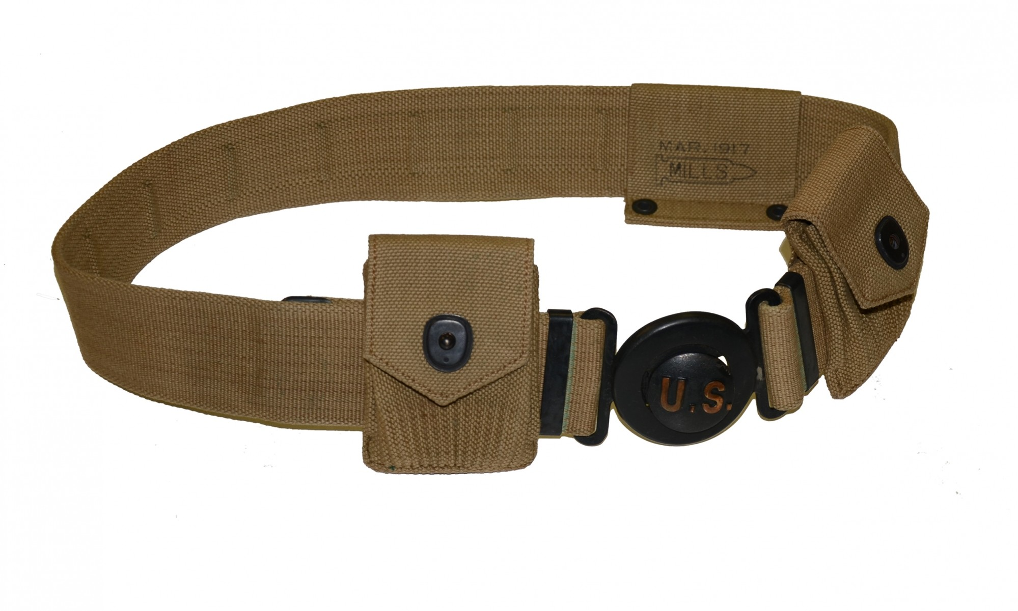 EXCELLENT CONDITIONED MODEL 1910 GARRISON BELT