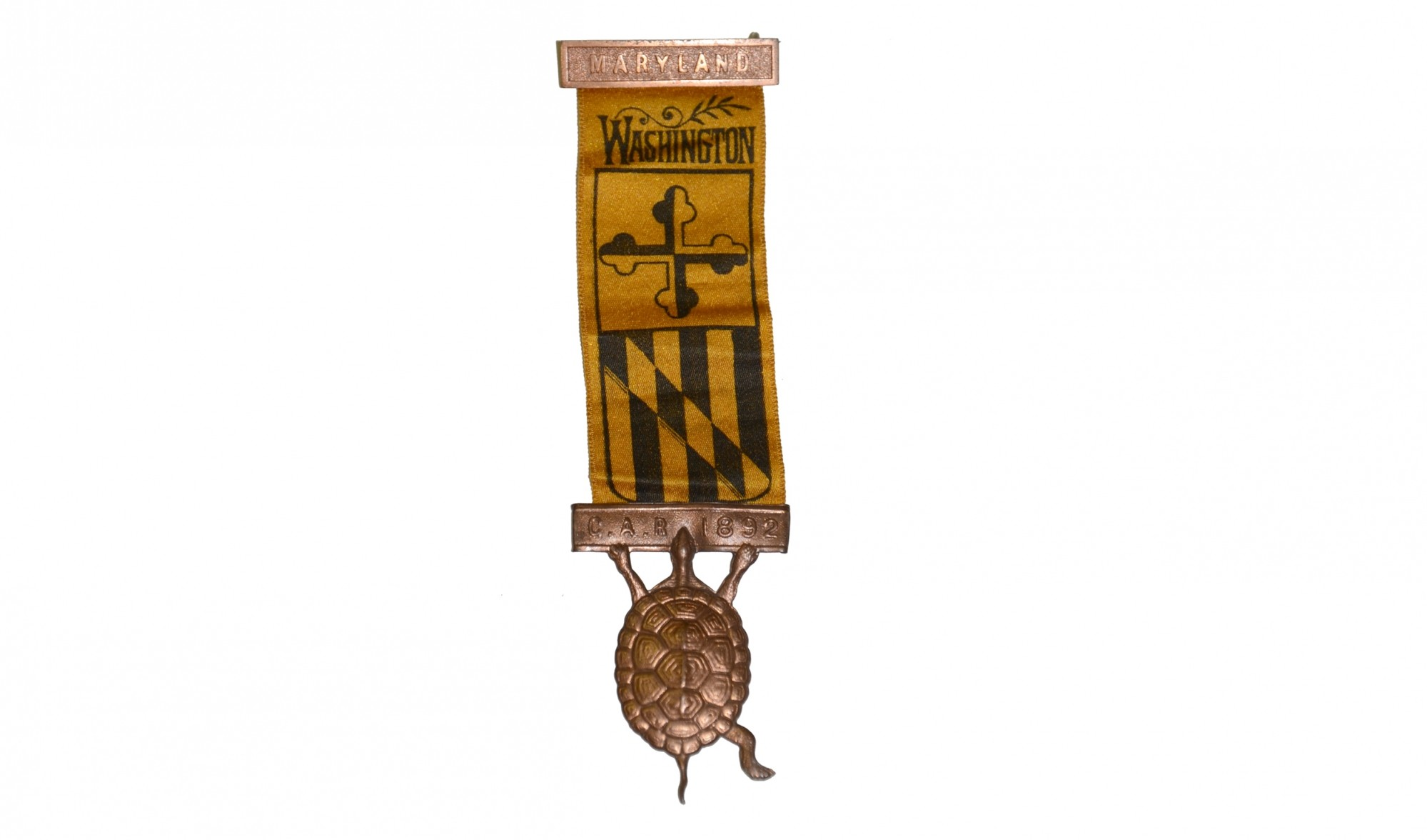 MARYLAND 1892 GAR BADGE