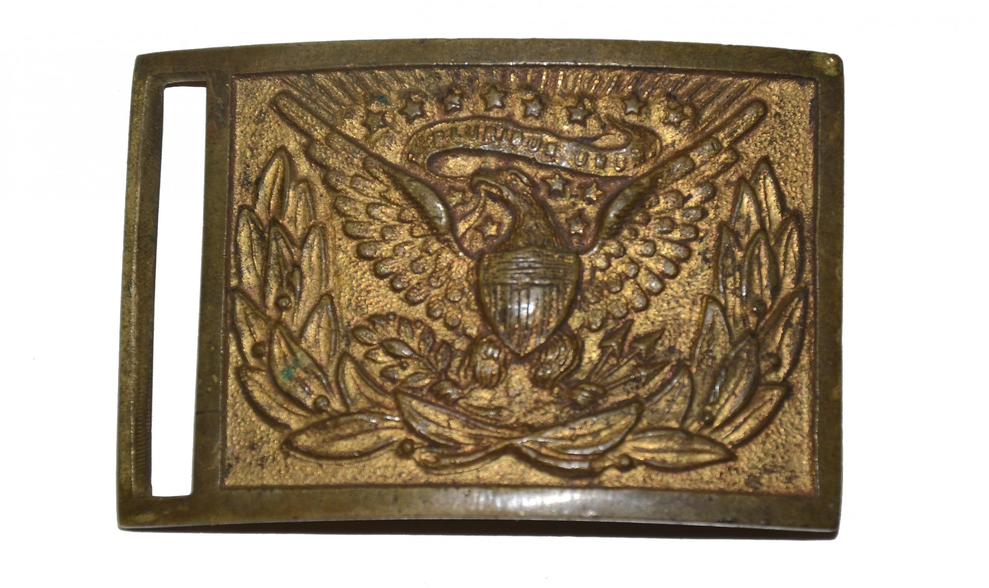 US MODEL 1851 OFFICER'S BELT PLATE
