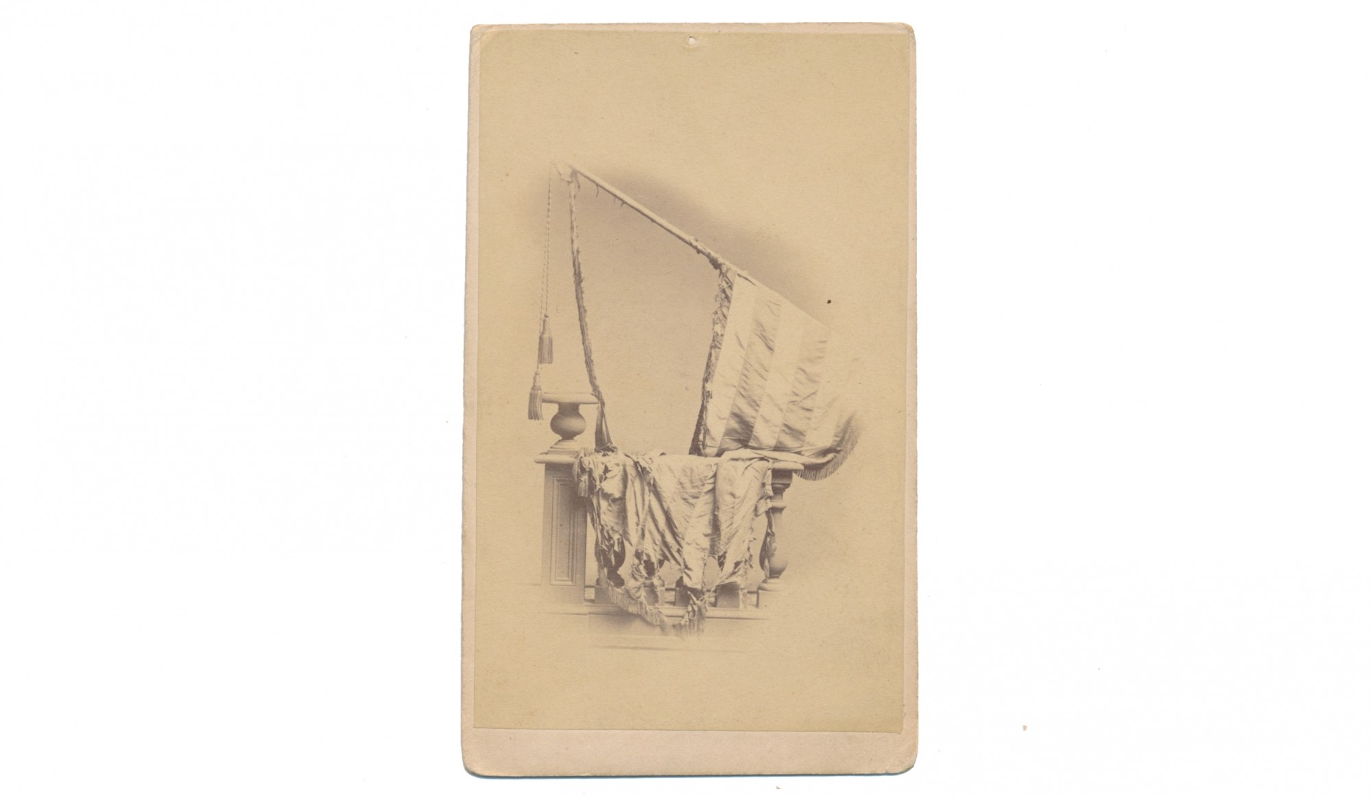 CDV OF 82ND PENNSYLVANIA NATIONAL COLORS