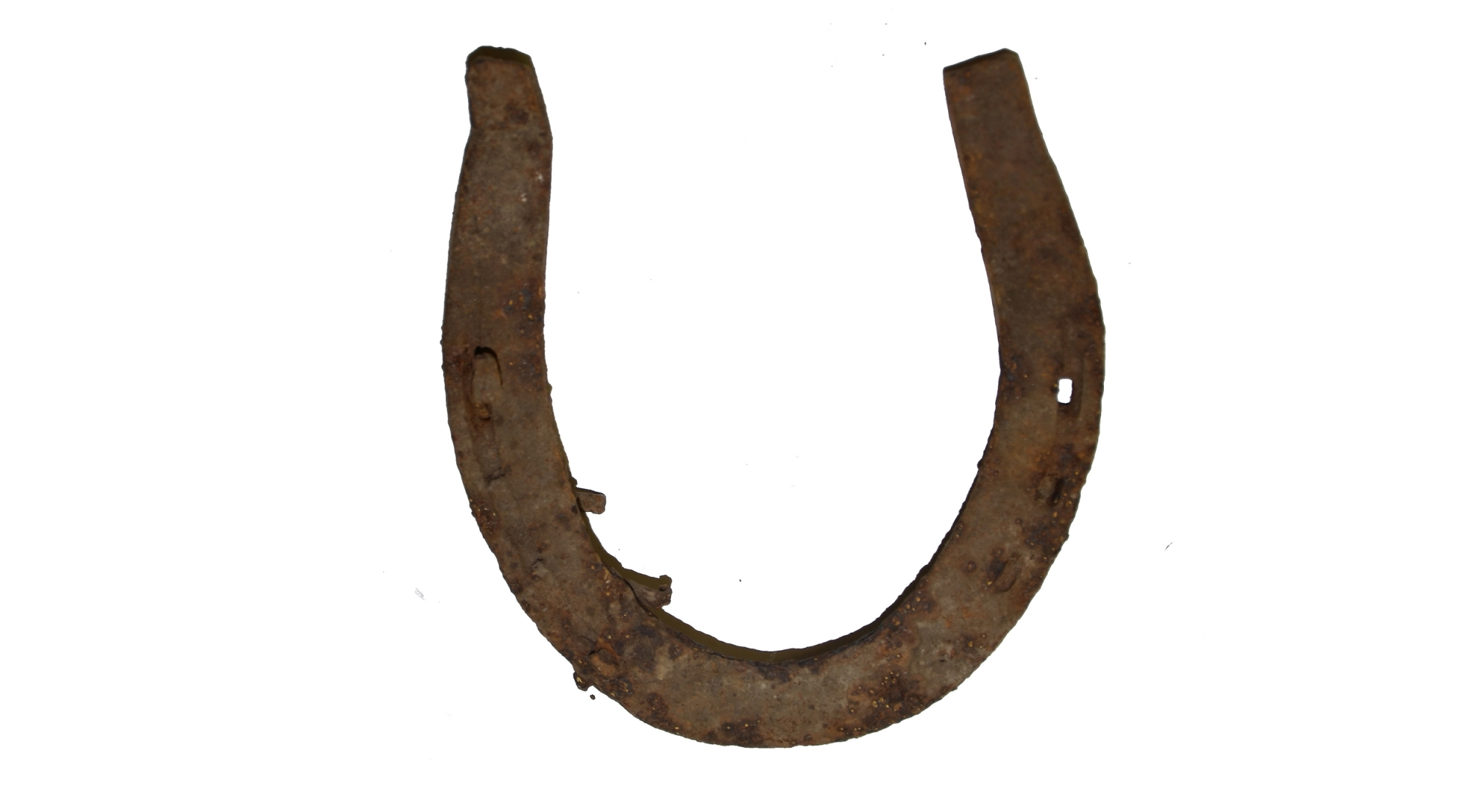 US/CS 19TH CENTURY HORSESHOE RECOVERED ON THE SHERFY FARM, GETTYSBURG