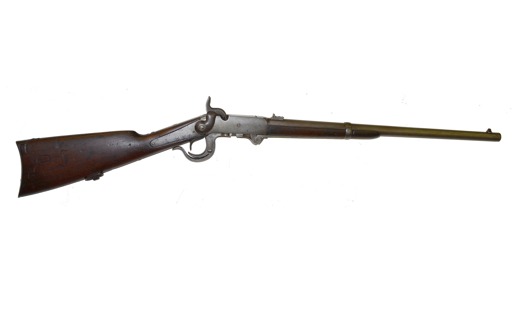 5TH MODEL BURNSIDE CARBINE IN FAIR TO GOOD CONDITION