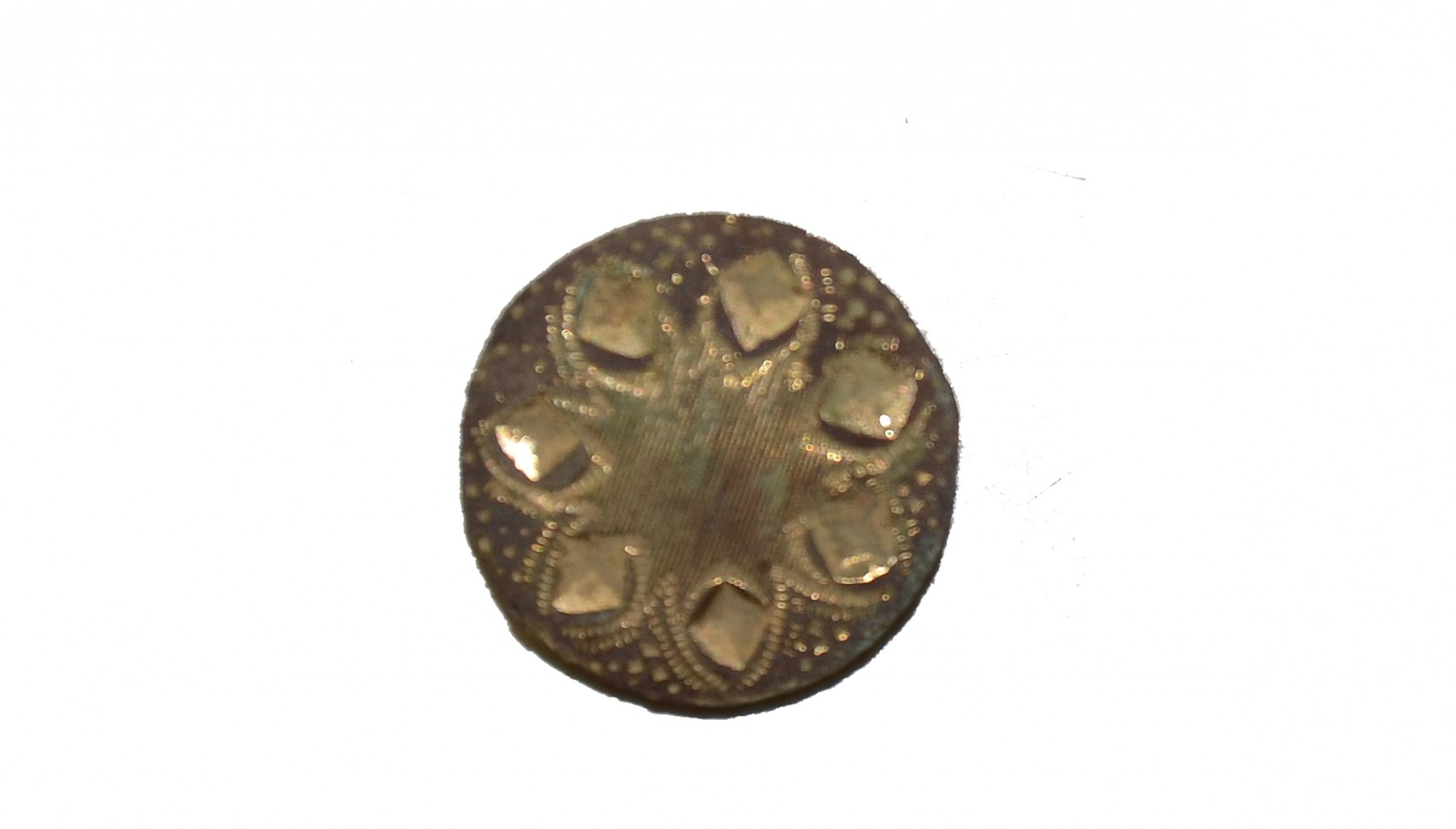 CS/US JACKET BUTTON RECOVERED AT THE ROSE FARM, GETTYSBURG