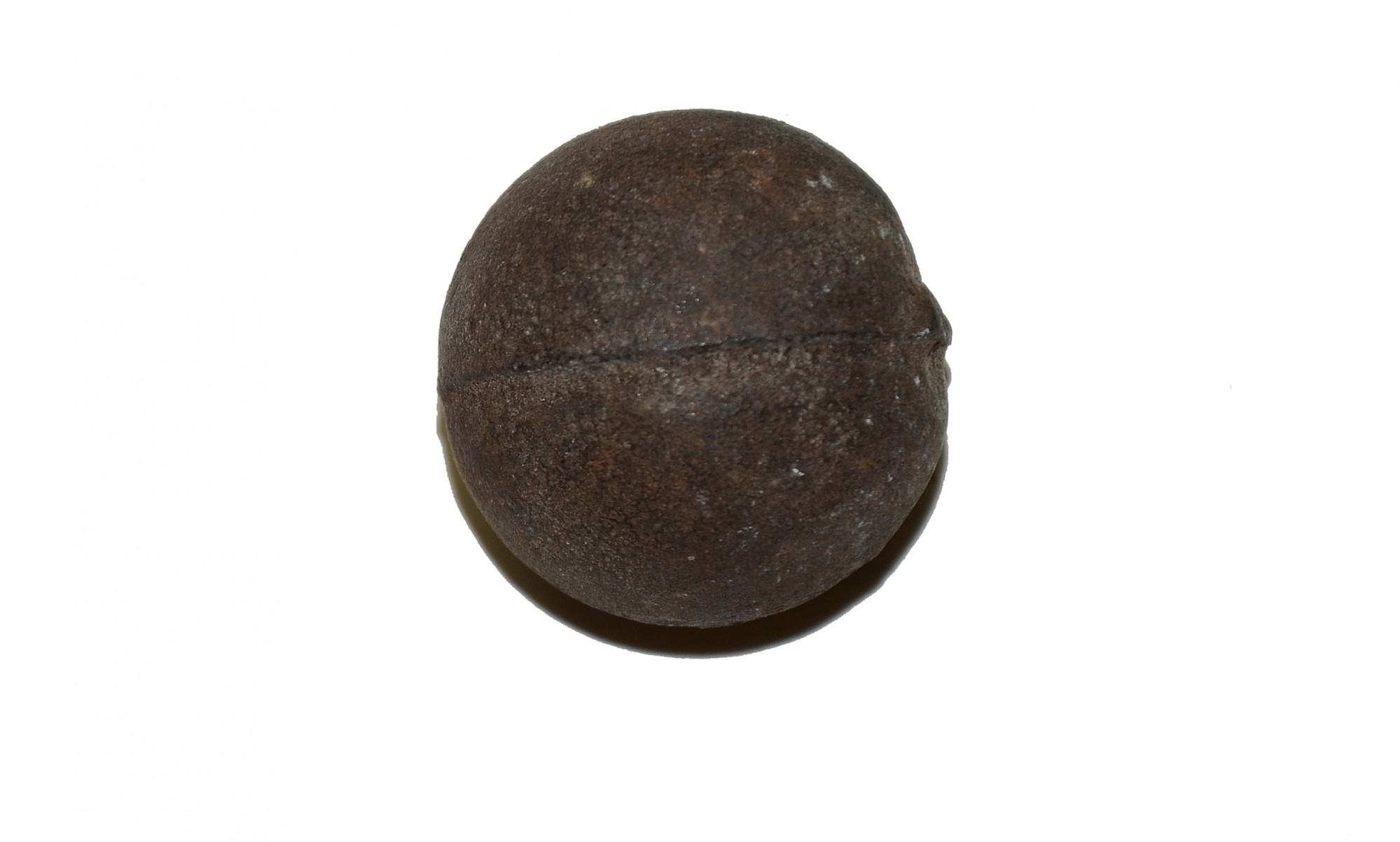 US/CS IRON 12 LB CANISTER BALL RECOVERED ON THE SHERFY FARM, GETTYSBURG