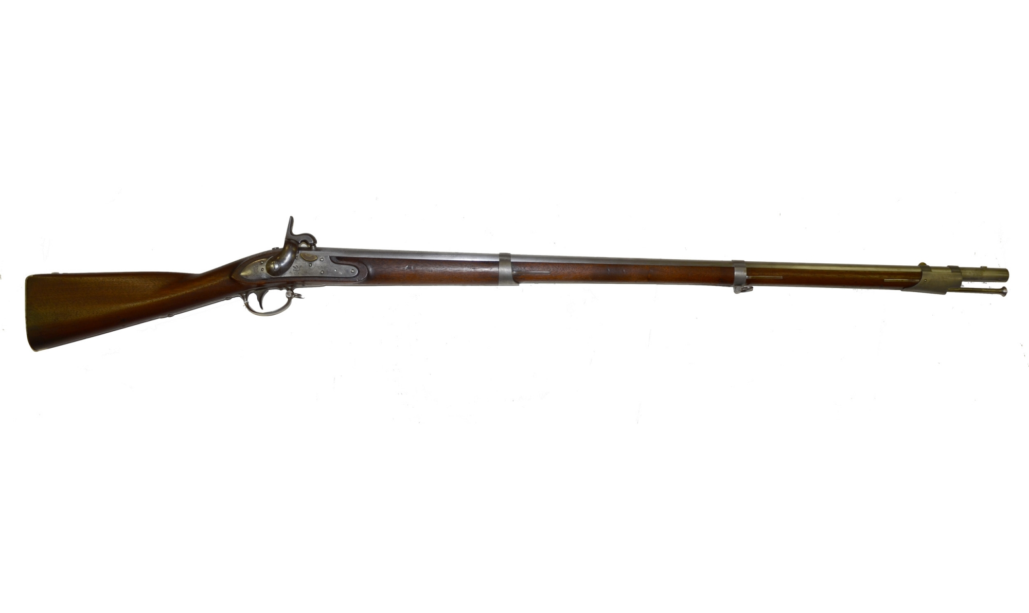 US MODEL 1816 FLINTLOCK MUSKET CONVERETED TO PERCUSSION