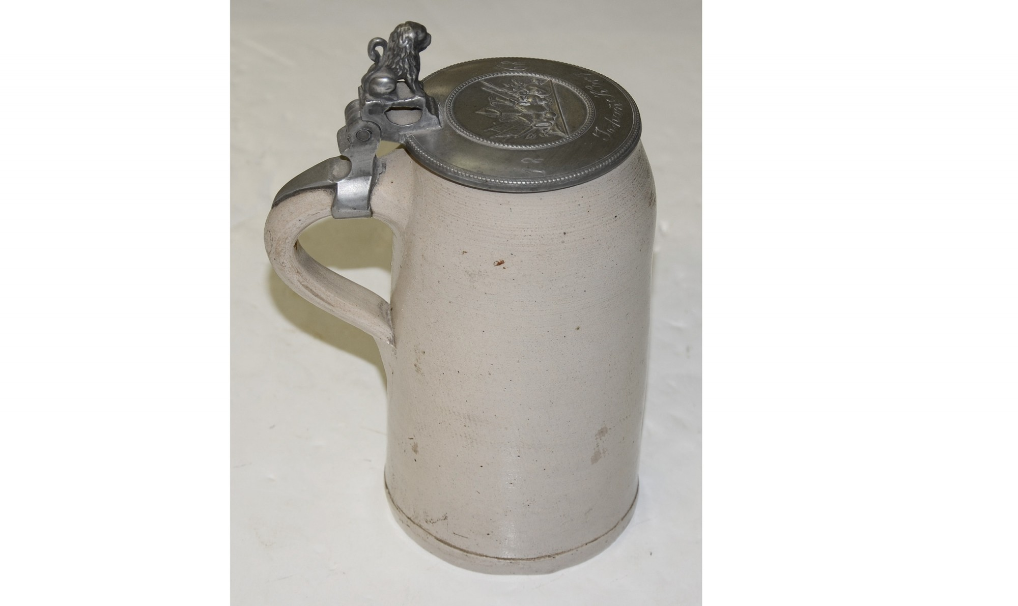 GERMAN STEIN, DATED 1868