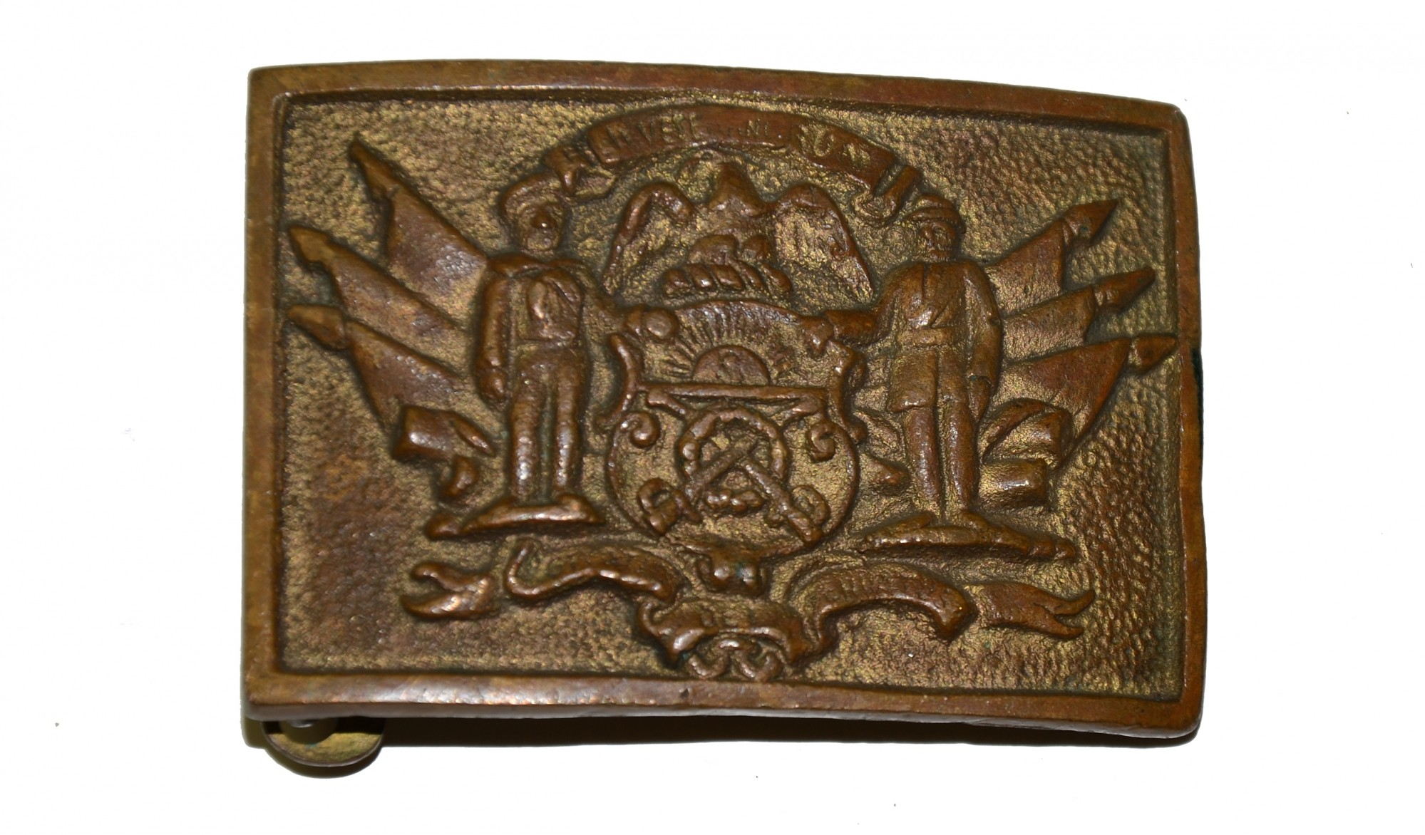 SONS OF UNION VETERANS SWORD BELT PLATE