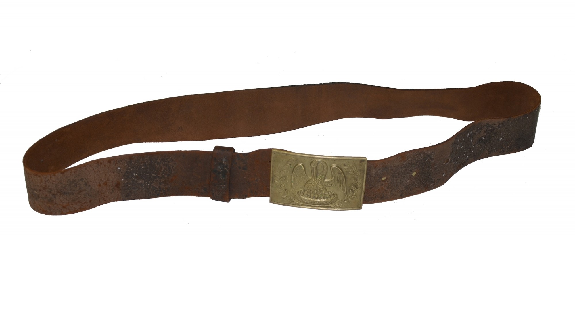LOUISIANA RECTANGULAR BUCKLE ON BELT