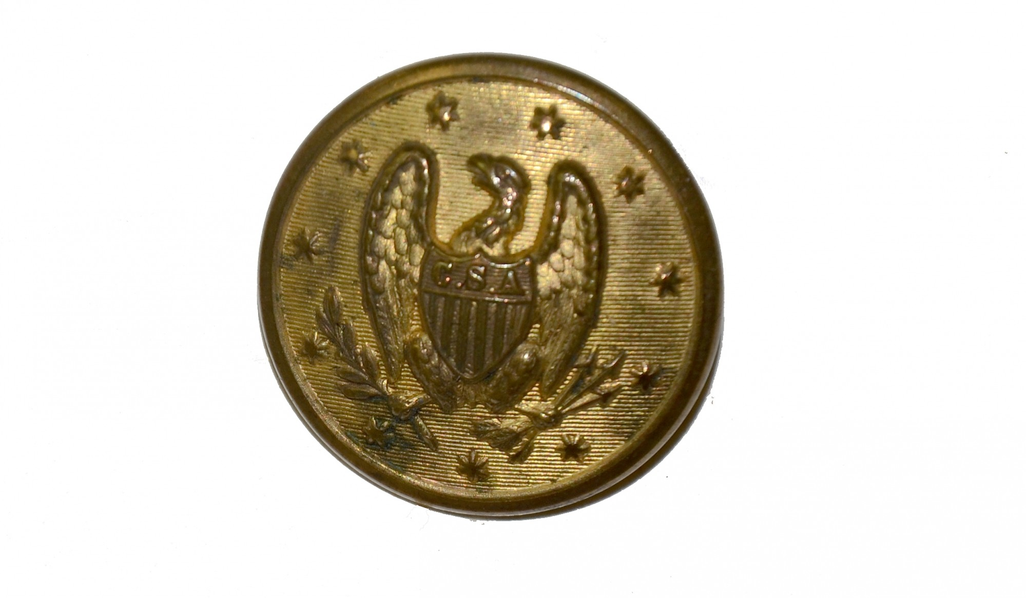 CONFEDERATE GENERAL OFFICER'S BUTTON