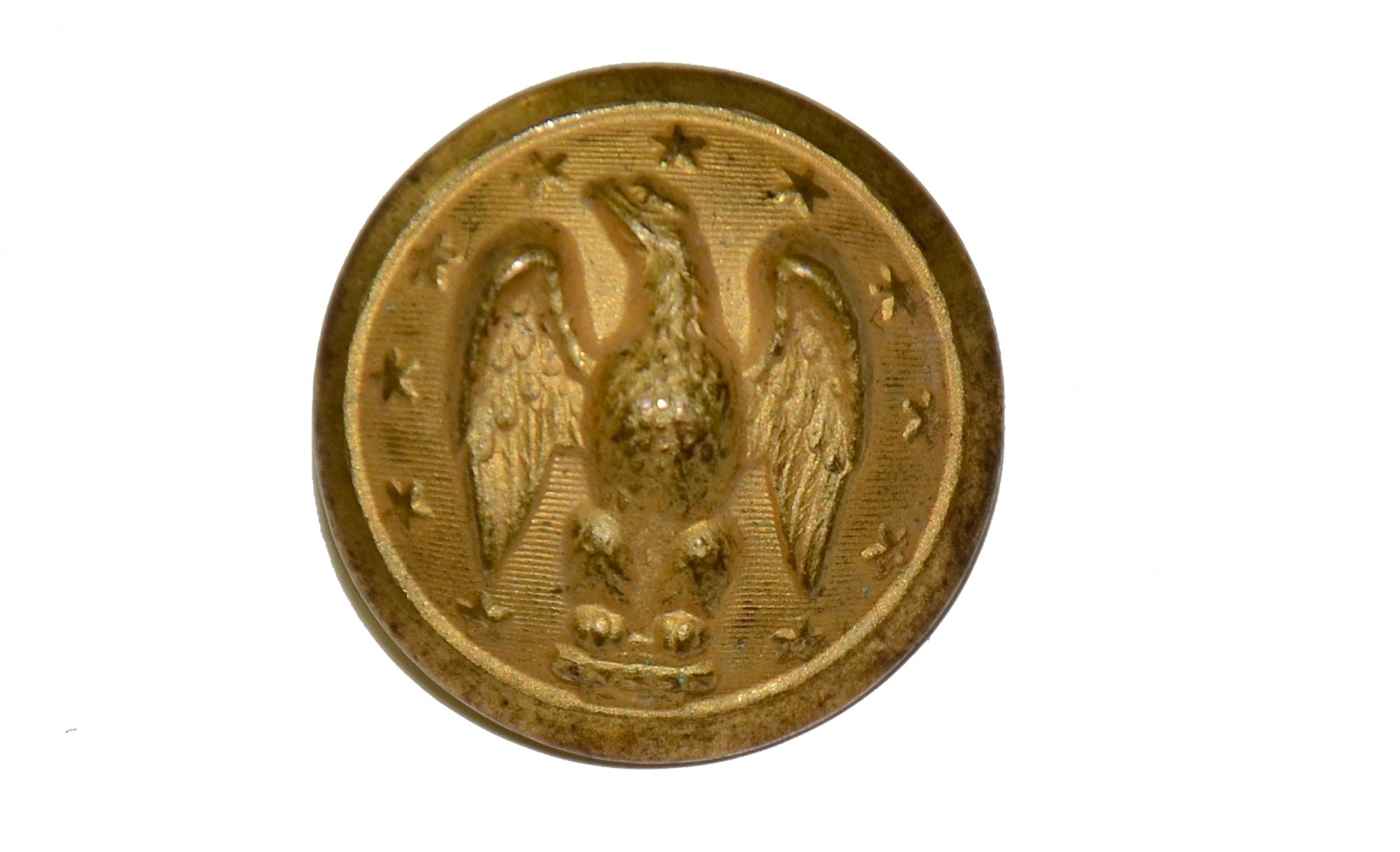 CONFEDERATE STAFF OFFICER'S BUTTON