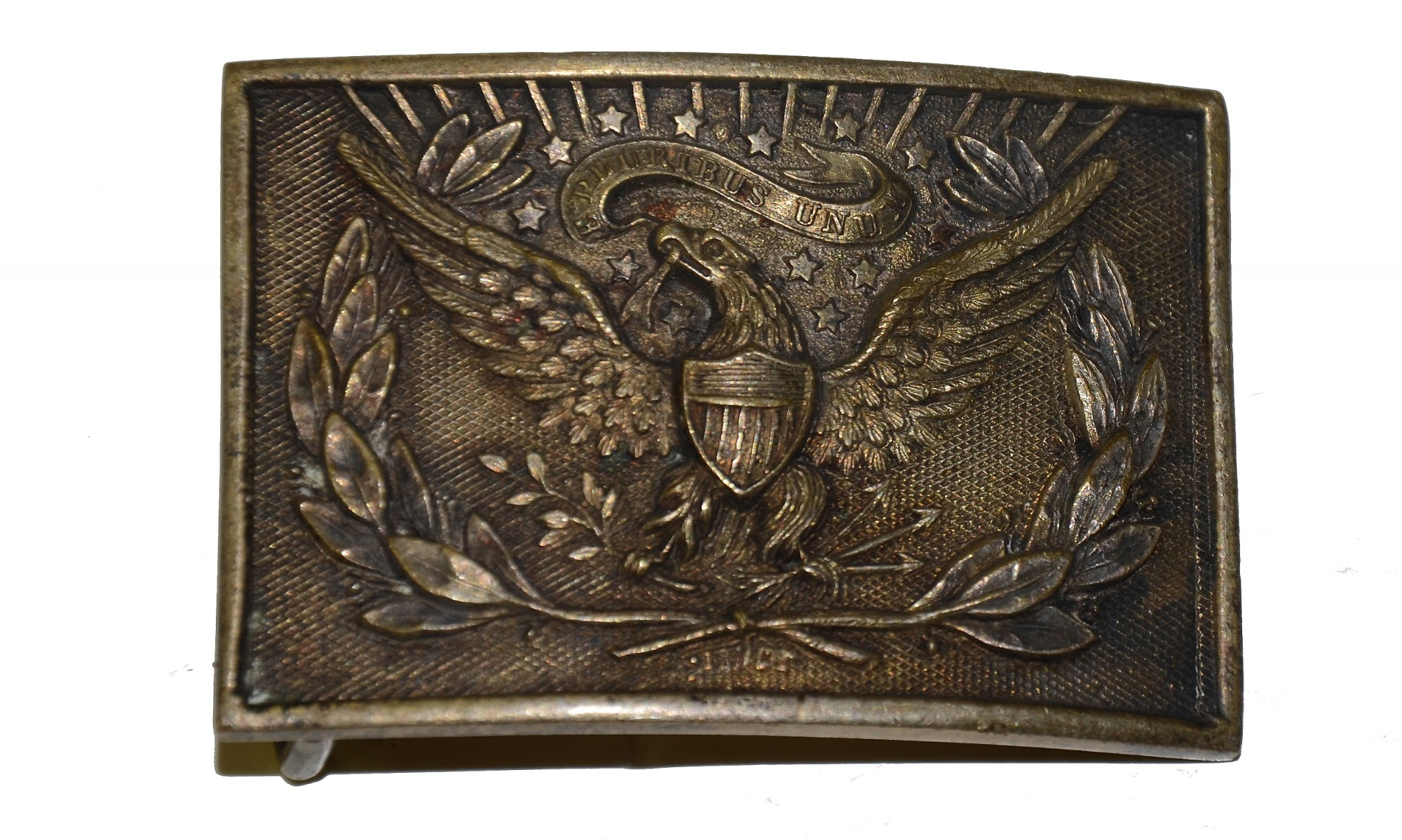 INDIAN WARS INFANTRY OFFICER'S BELT PLATE