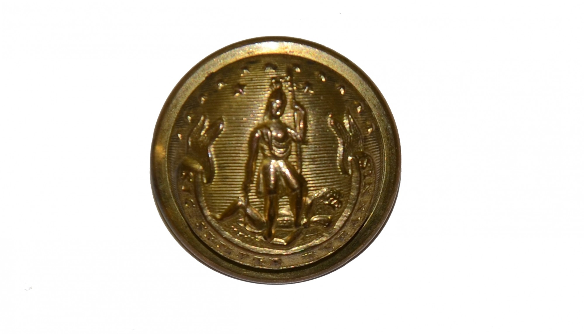 VIRGINIA STAFF COAT BUTTON
