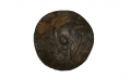 DUG US EARLY INFANTRY EAGLE COAT BUTTON