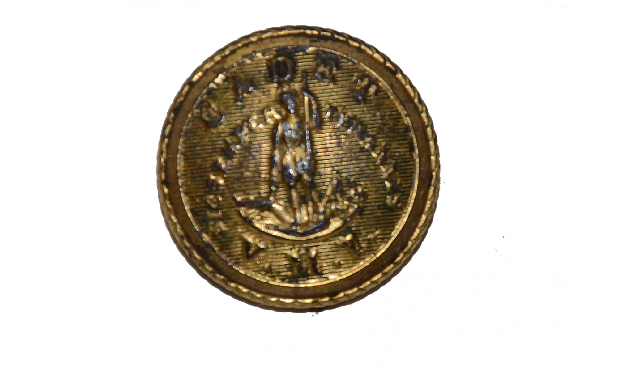 DUG CADET VMI COAT BUTTON