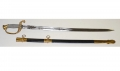 MODEL 1852 NAVAL OFFICER'S SWORD IN SUPERIOR ORIGINAL CONDITION