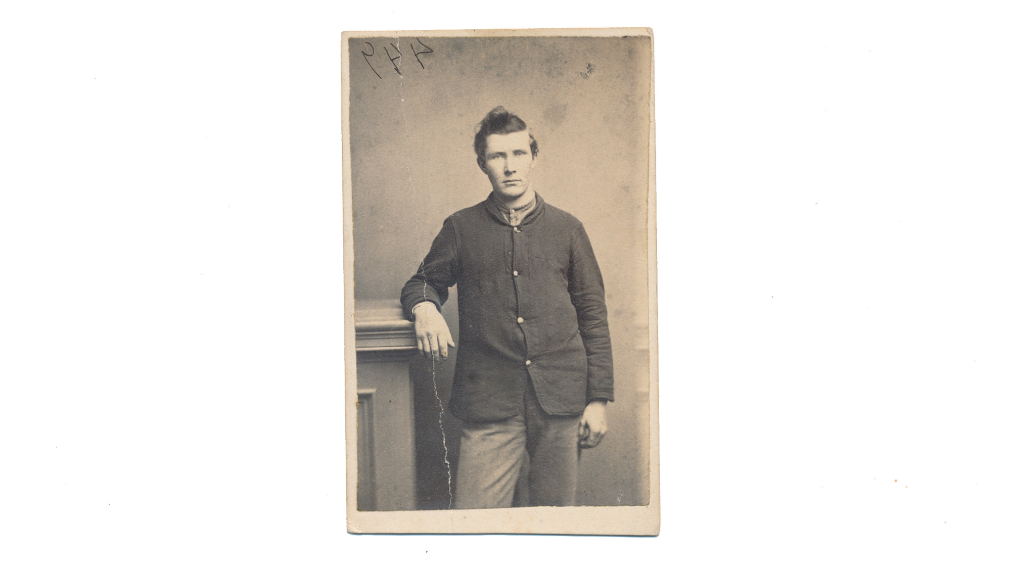 CDV OF CHARLES D. WATSON, 24TH WISCONSIN INFANTRY