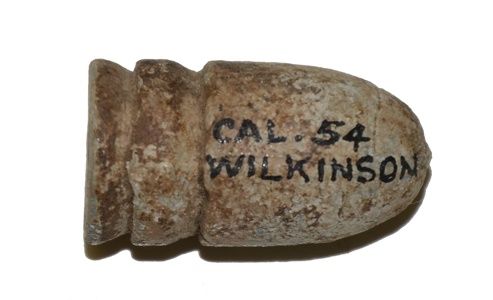 CONFEDERATE .54 WILKINSON BULLET FROM THE MAC MASON COLLECTION