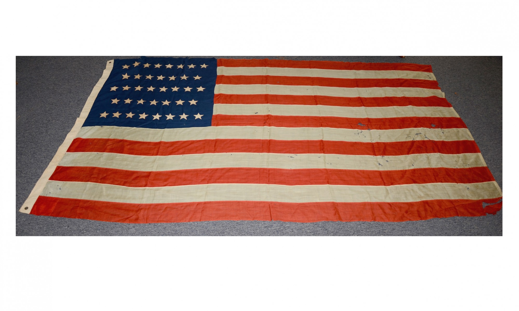 38 STAR US FLAG USED FROM 1877-1890