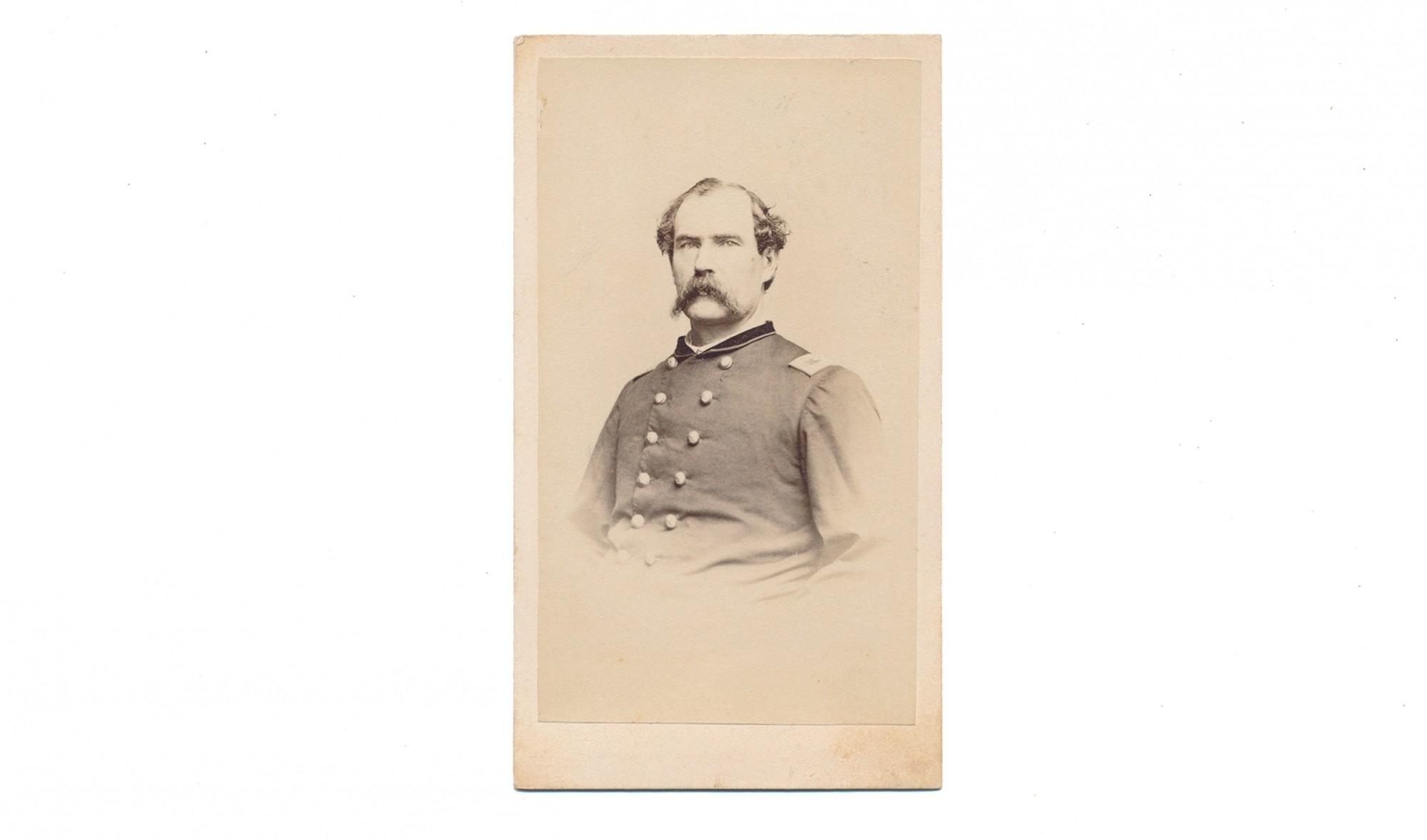 CDV OF ALBERT S. FOLLANSBEE, 6TH MASSACHUSETTS INFANTRY