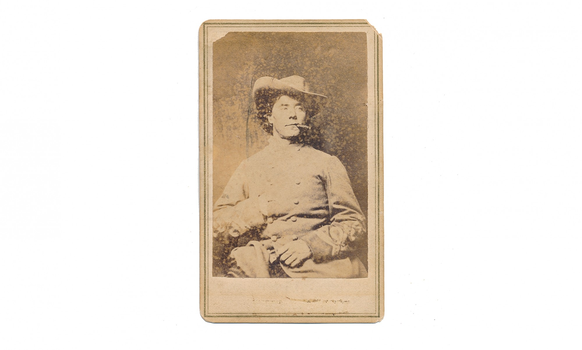 CDV OF WILLIAM S. LAWTON, CS MEDICAL STAFF