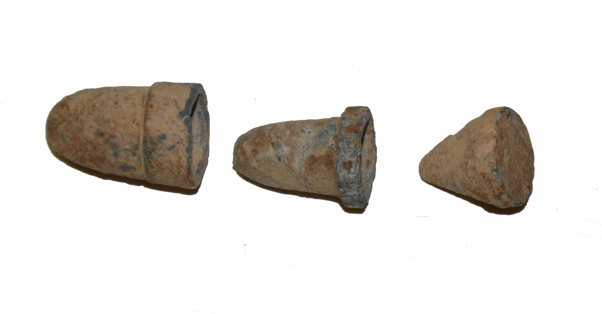 THREE PIECE SHALER BULLET RECOVERED NEAR RICHMOND, VIRGINIA