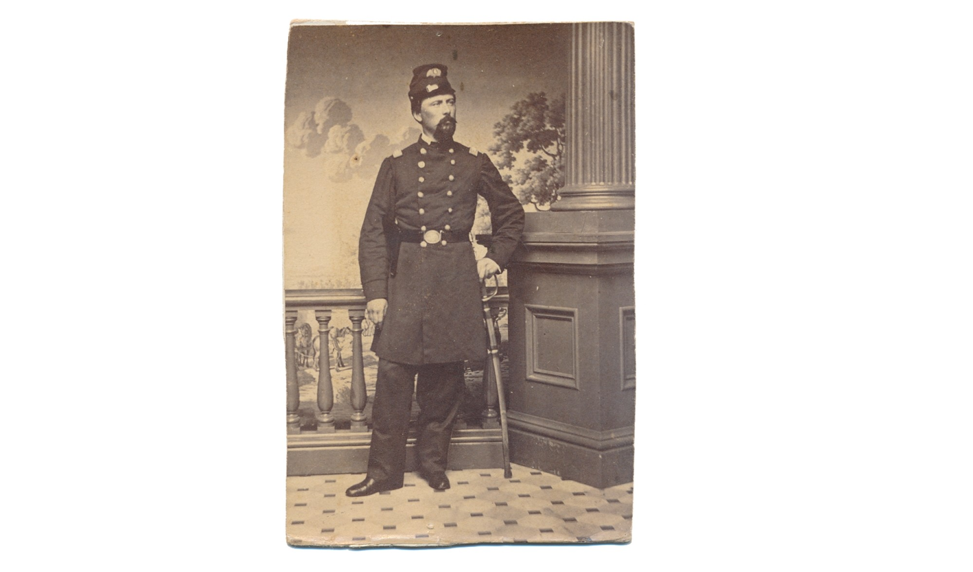 CDV OF US GENERAL EDWARD WINSLOW HINKS