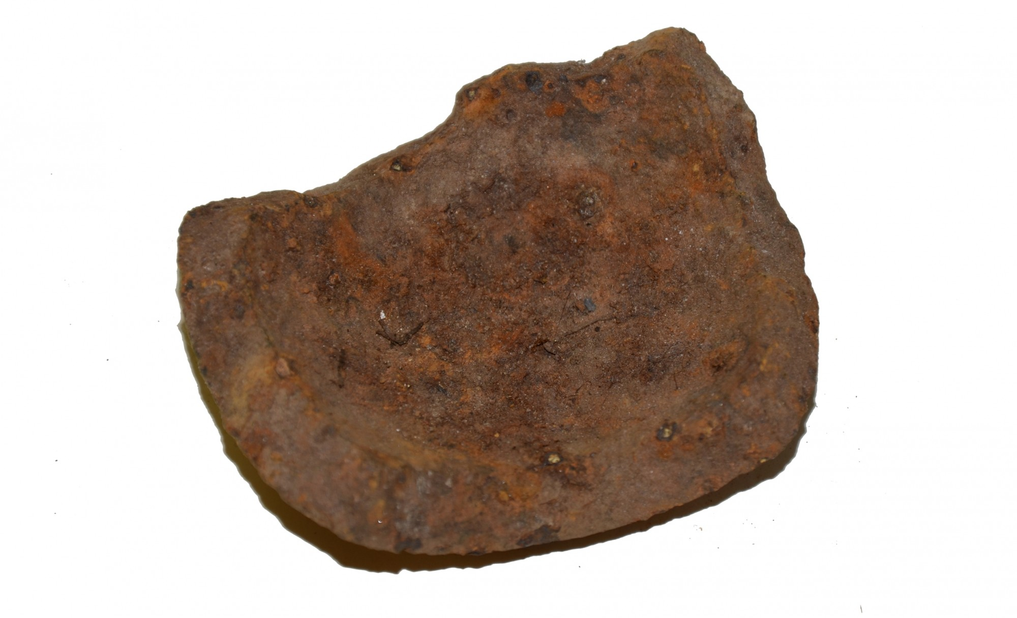 "US/CS 4.52"" 12 POUNDER SPHERICAL SHELL FRAGMENT – GETTYSBURG"