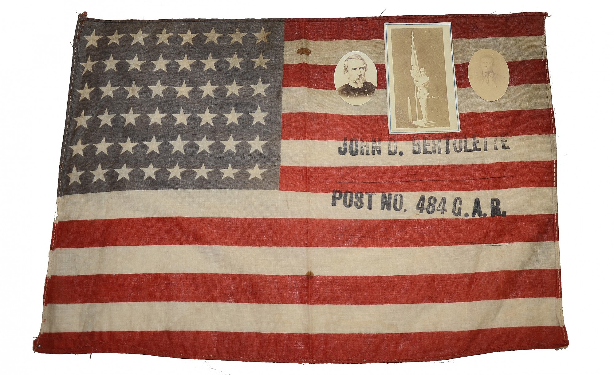 48 STAR GAR FLAG FOR PENNSYLVANIA POST #484
