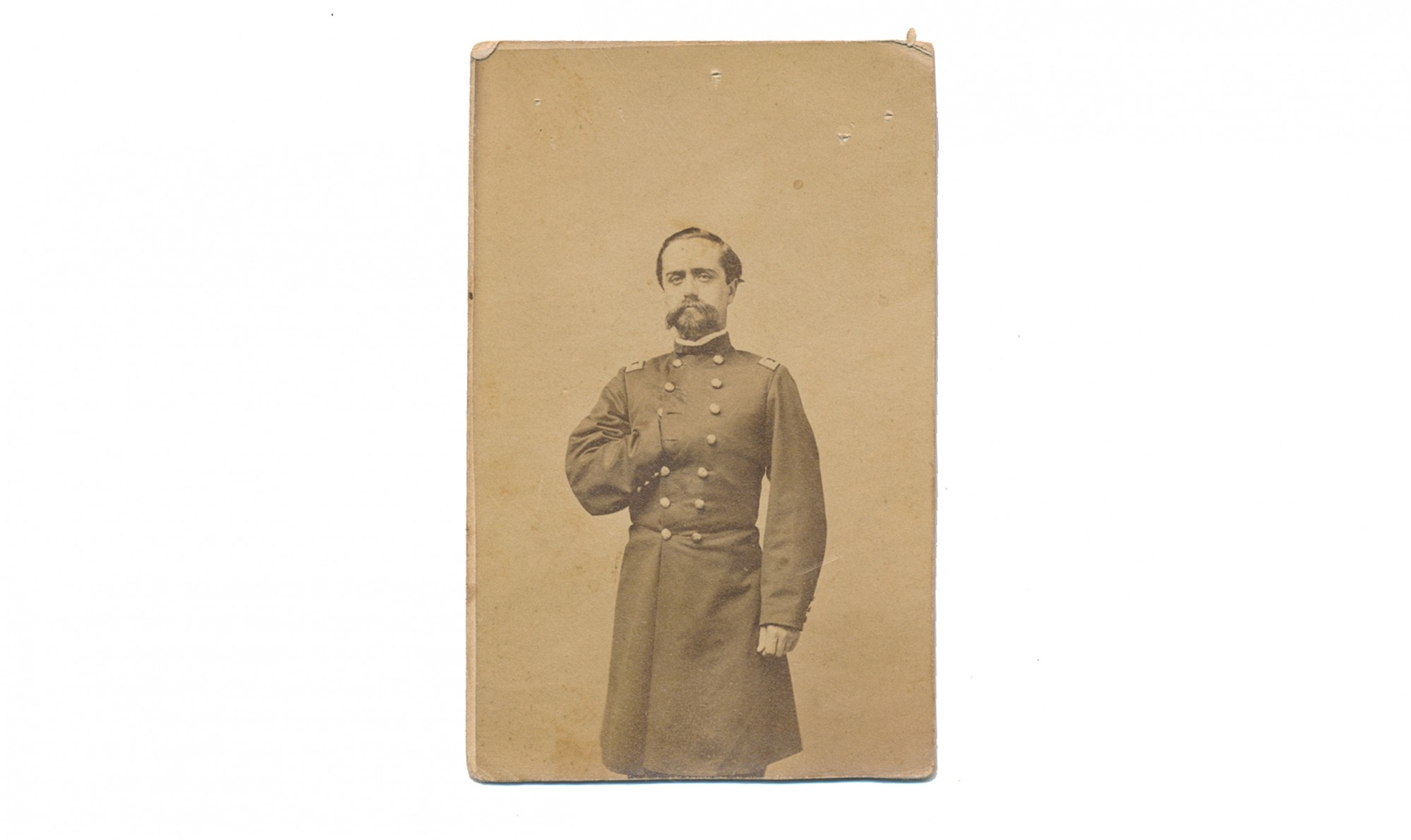 CDV OF JACOB HENRY COUNSELMAN, 1ST MARYLAND CAVALRY, US