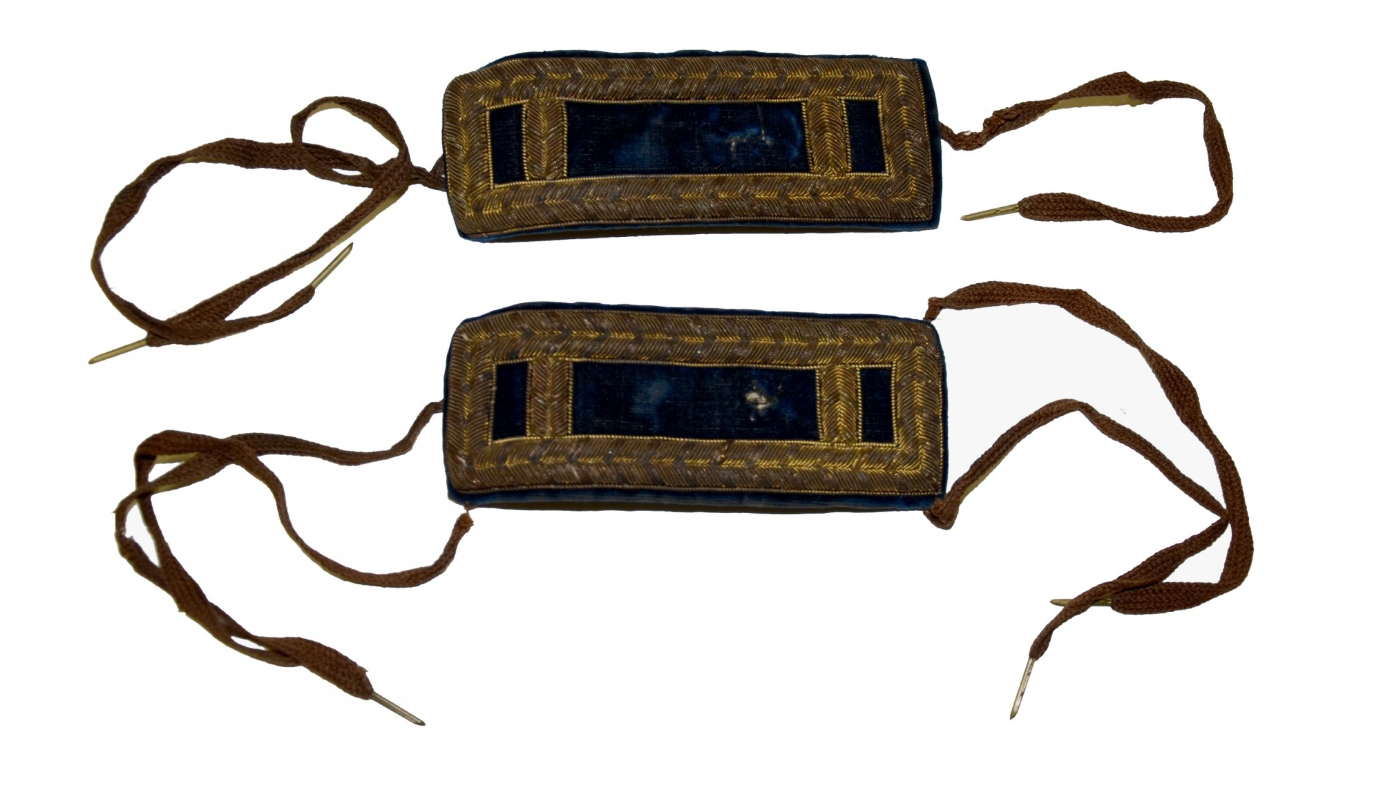 PAIR OF 1st LT INFANTRY SHOULDER BOARDS