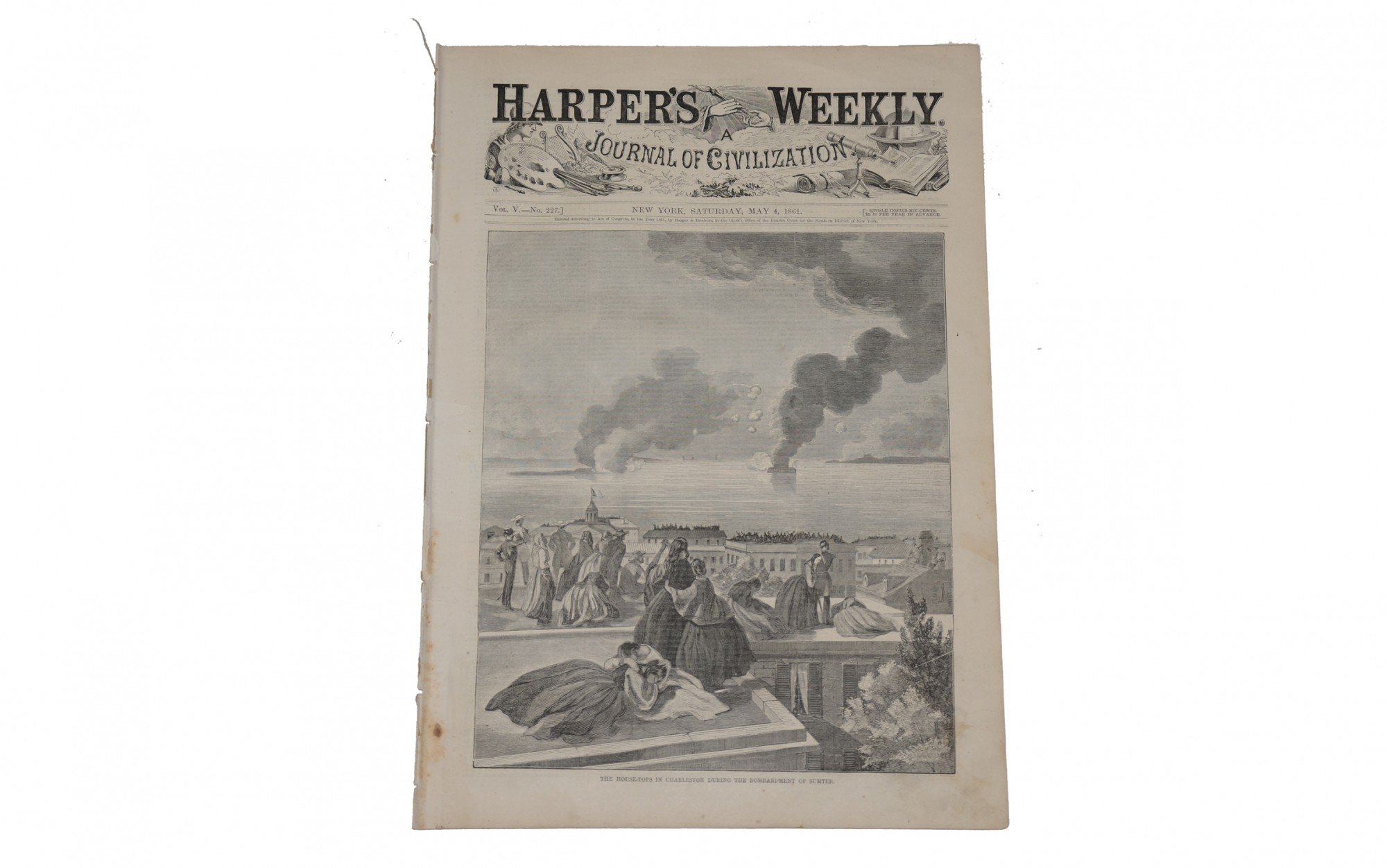 HARPER'S WEEKLY DATED MAY 4, 1861