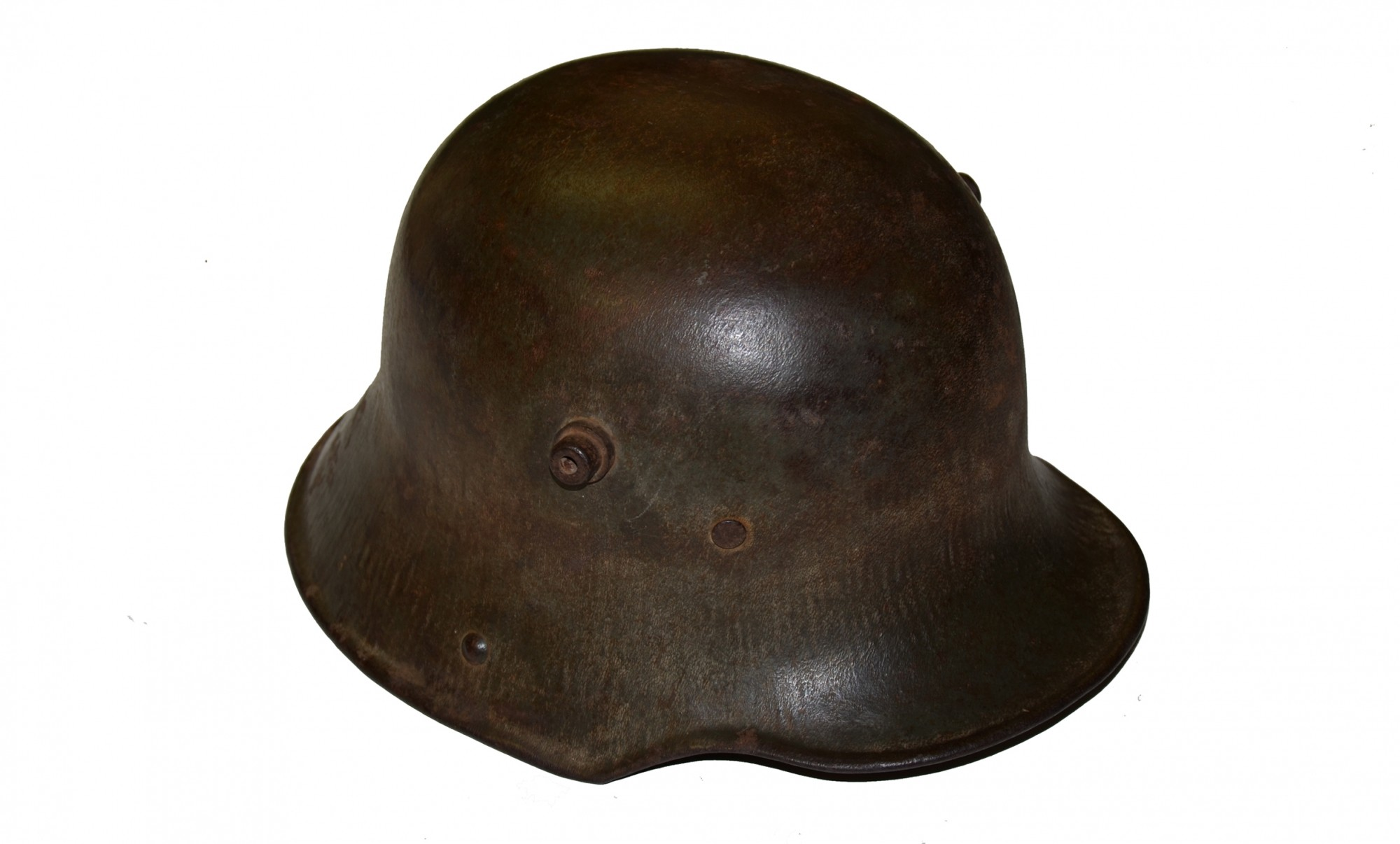 WORLD WAR ONE MODEL 1917 GERMAN HELMET