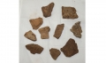 GROUP OF US/CS ARTILLERY SHELL FRAGMENTS FOUND AT EXCELSIOR FIELD IN GETTYSBURG