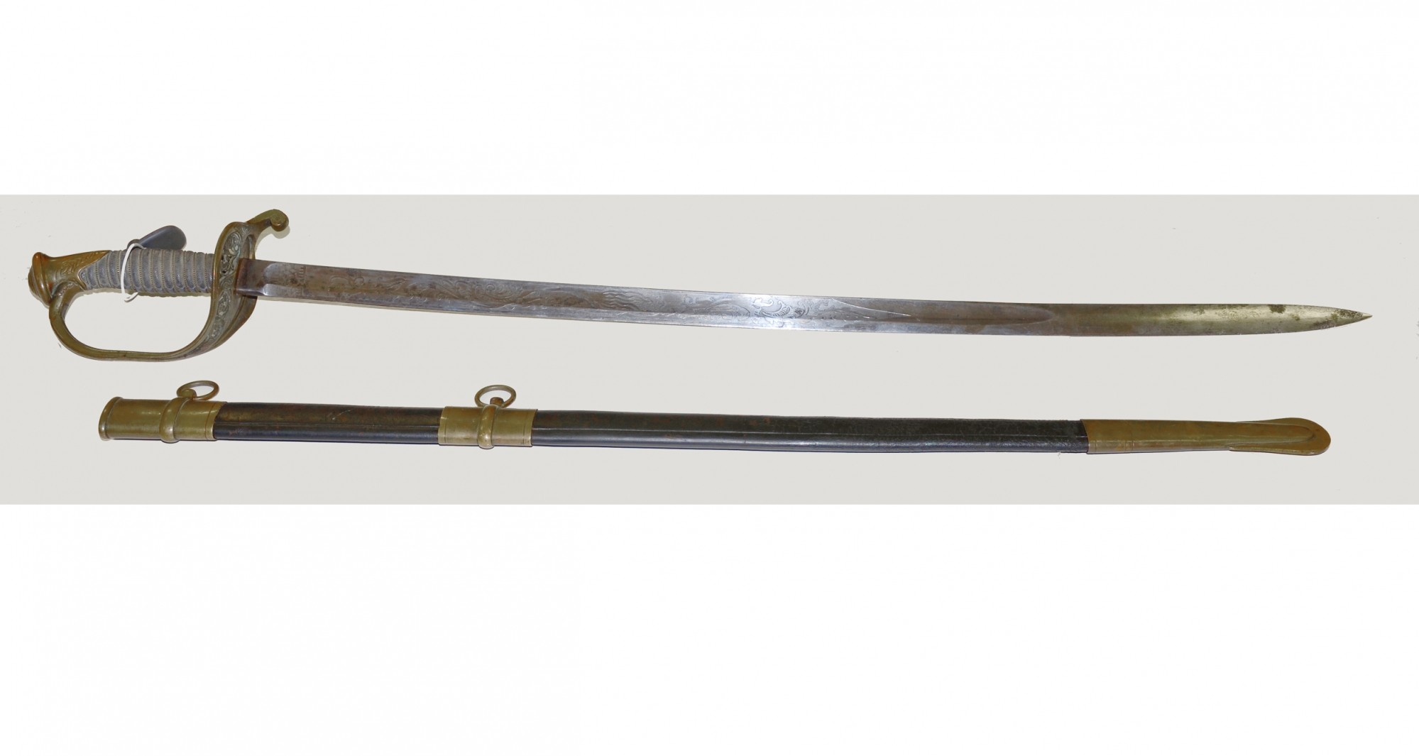 Classic Model 1850 Imported Civil War Foot Officer S Sword