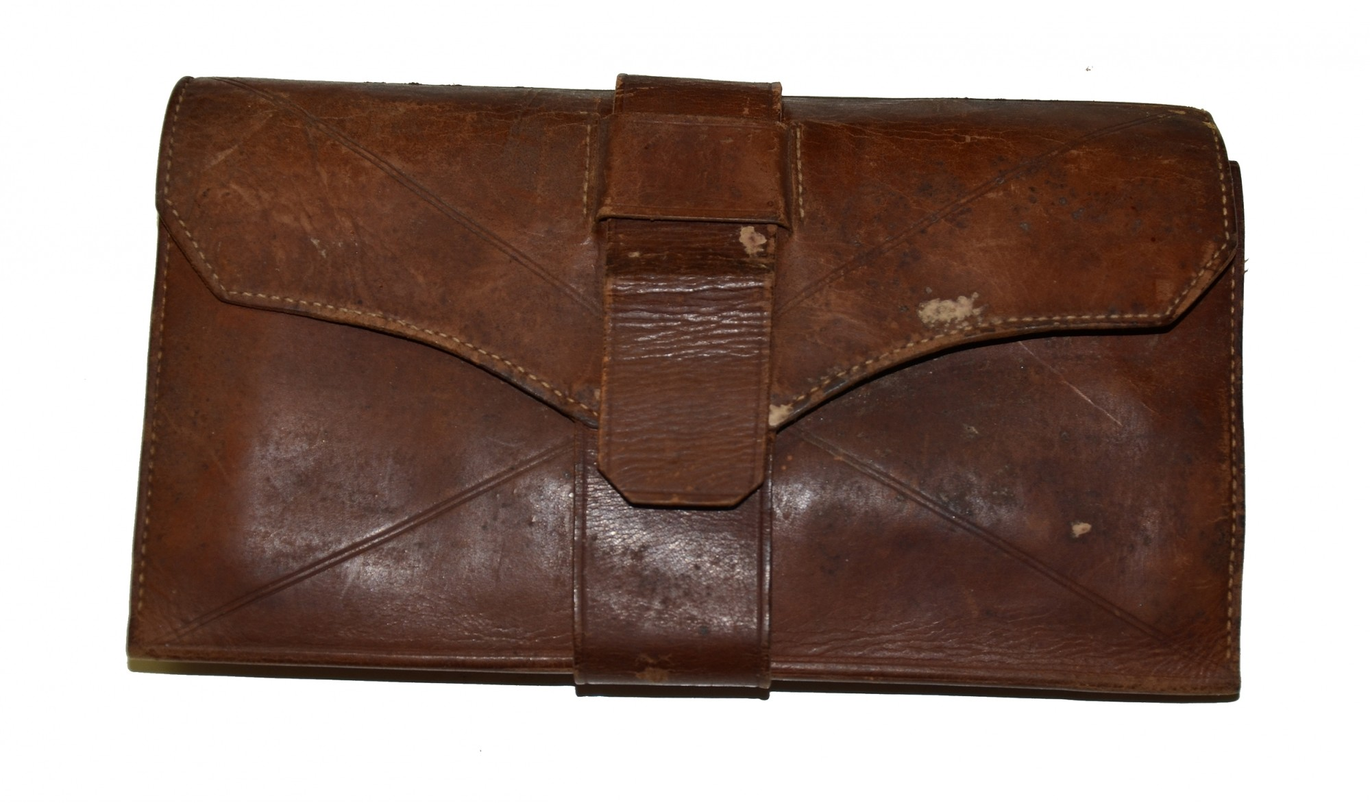 LEATHER WALLET ID'D TO CS MAJOR FREDERICK A. BRISCOE
