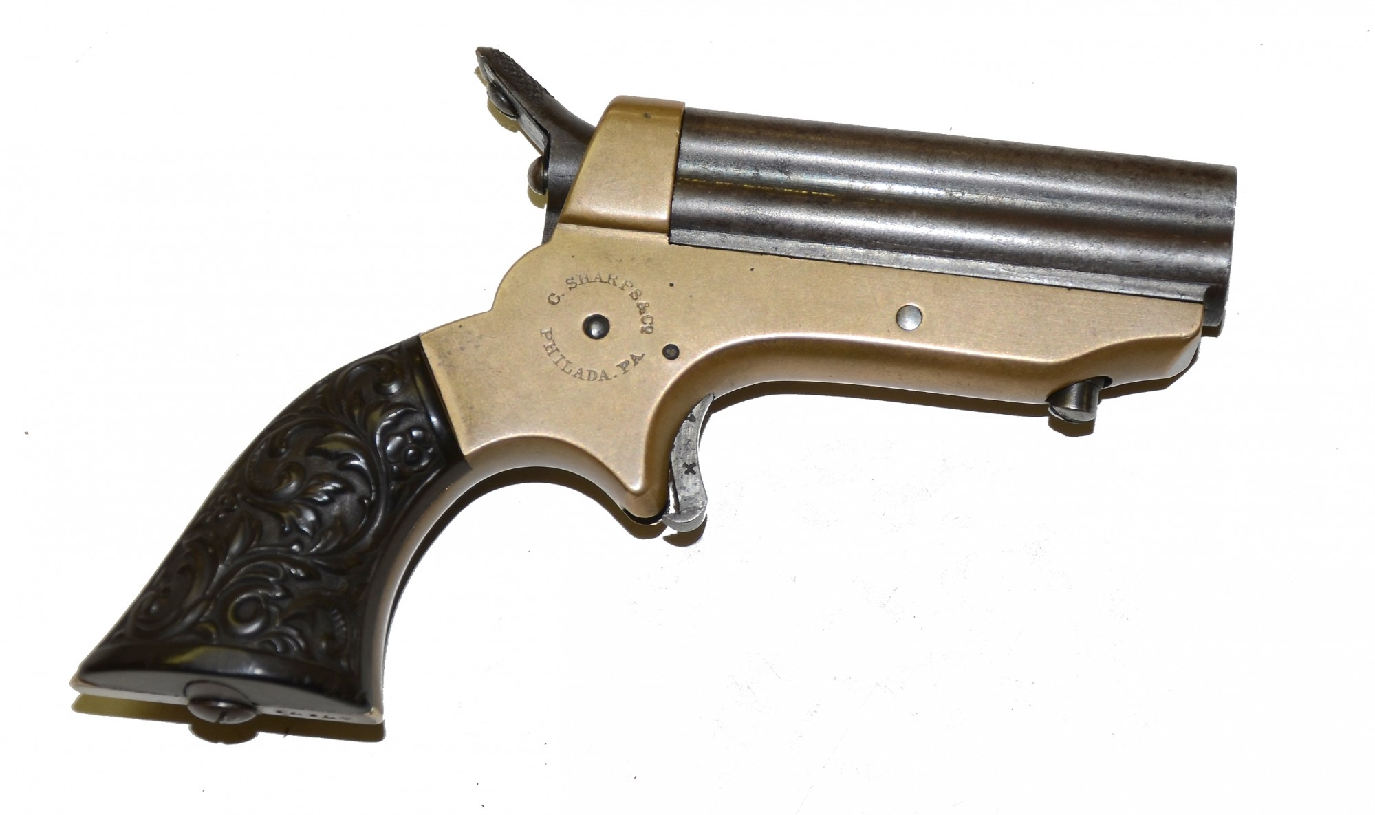 SHARPS FOUR-BARREL PEPPERBOX