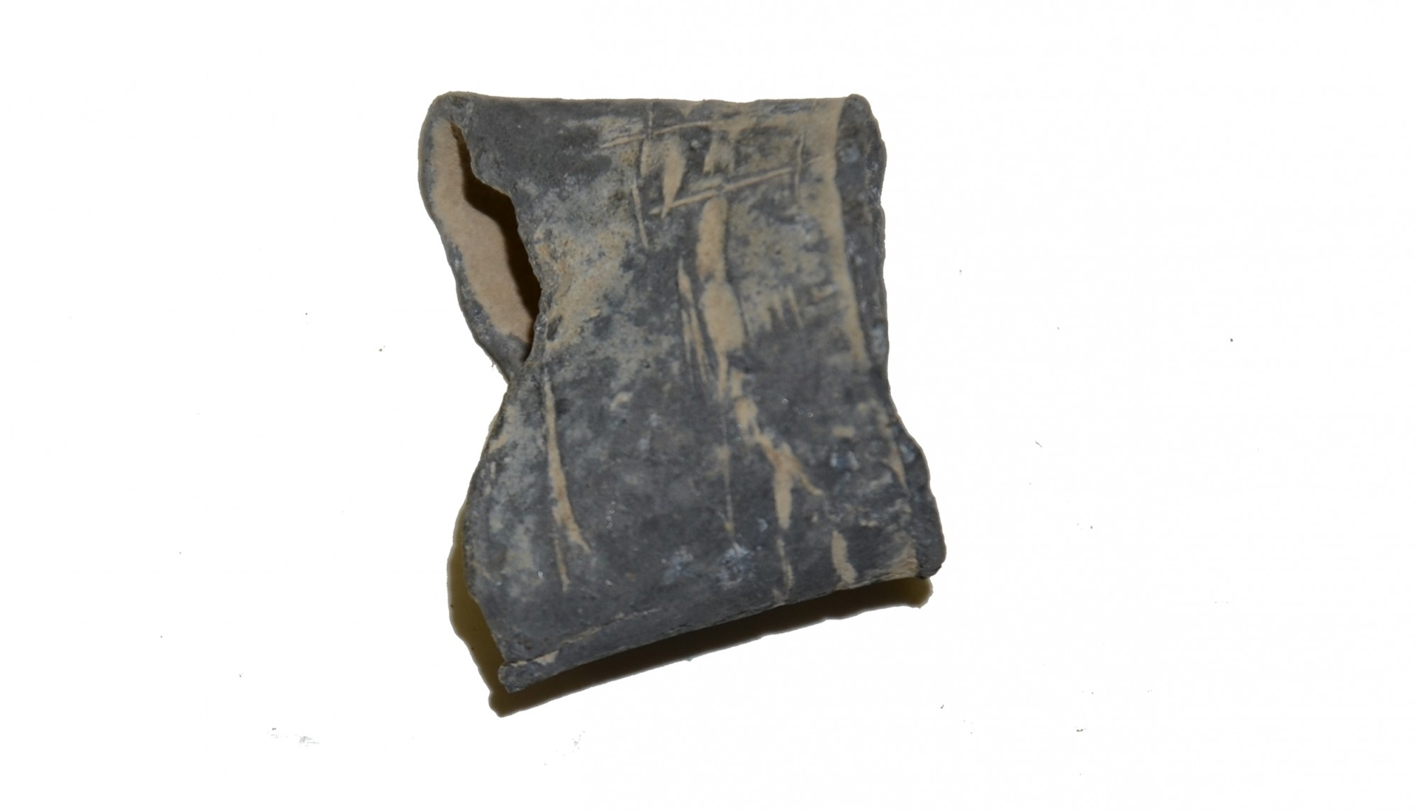 US/CS CANTEEN SPOUT RECOVERED AT GETTYSBURG