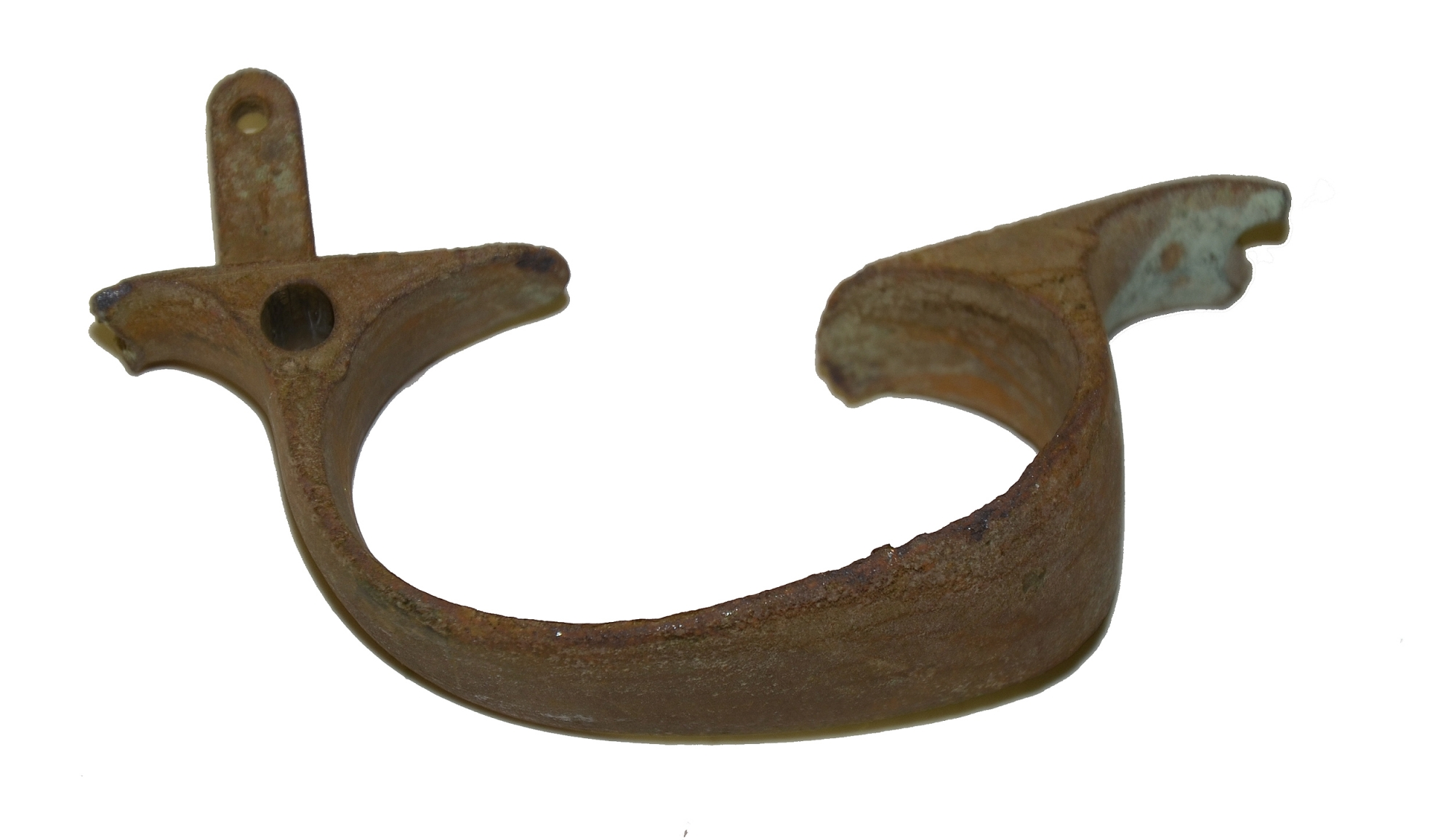 ENFIELD TRIGGER GUARD RECOVERED AT GETTYSBURG