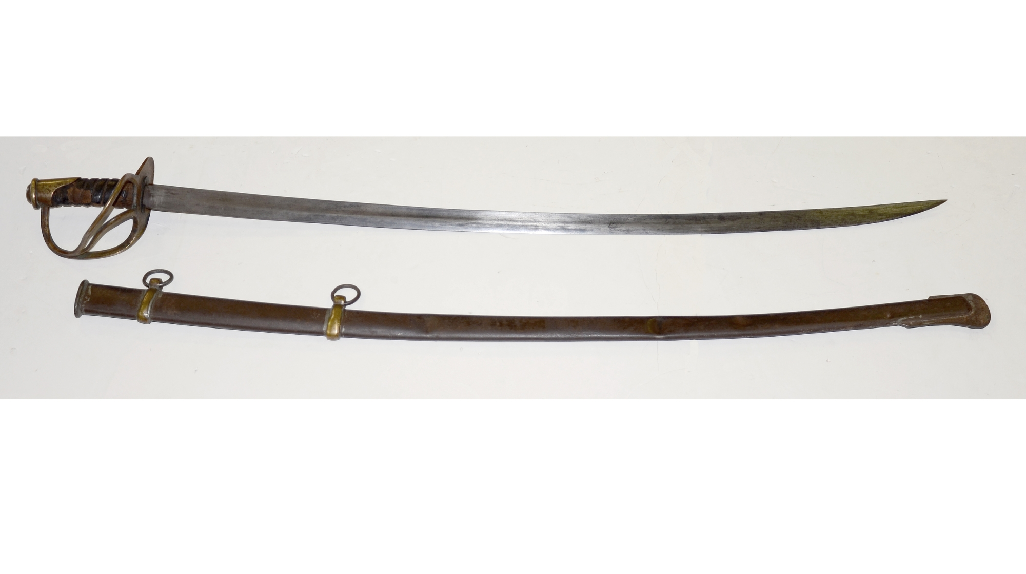 "CONFEDERATE ""DOG RIVER"" STYLE CAVALRY SABRE"