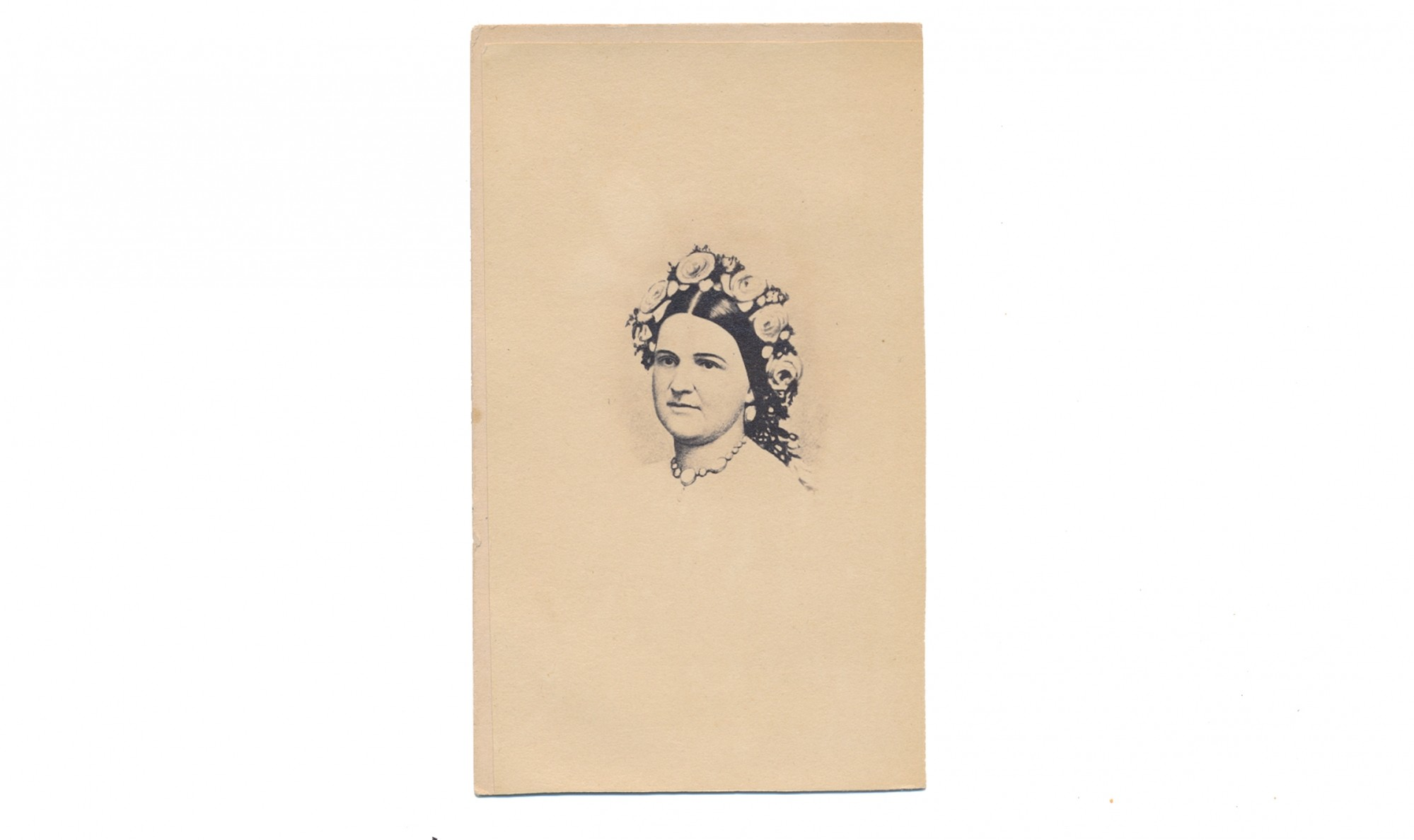 CDV OF MARY TODD LINCOLN