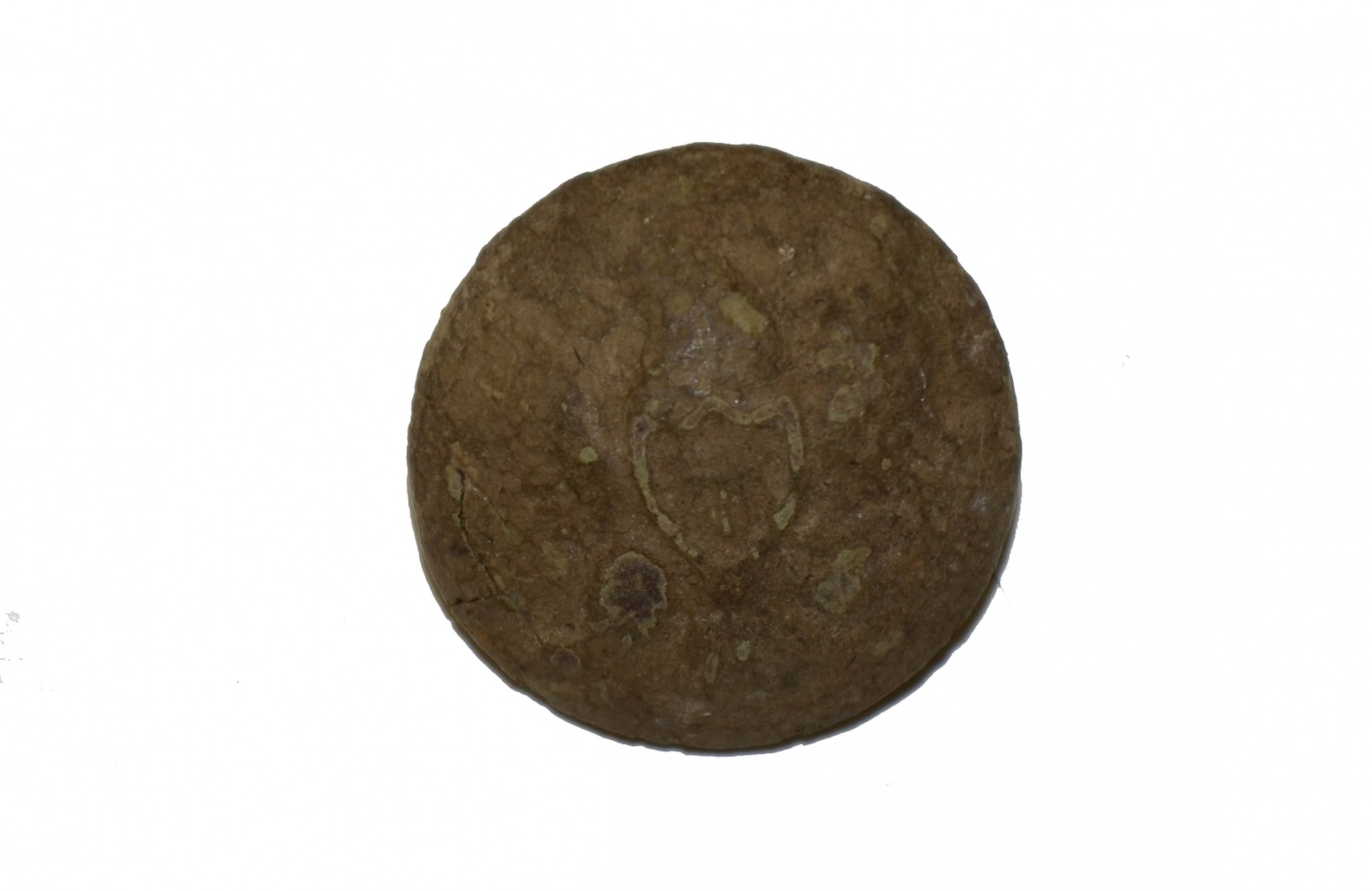 EAGLE COAT BUTTON RECOVERED NEAR CULP'S HILL