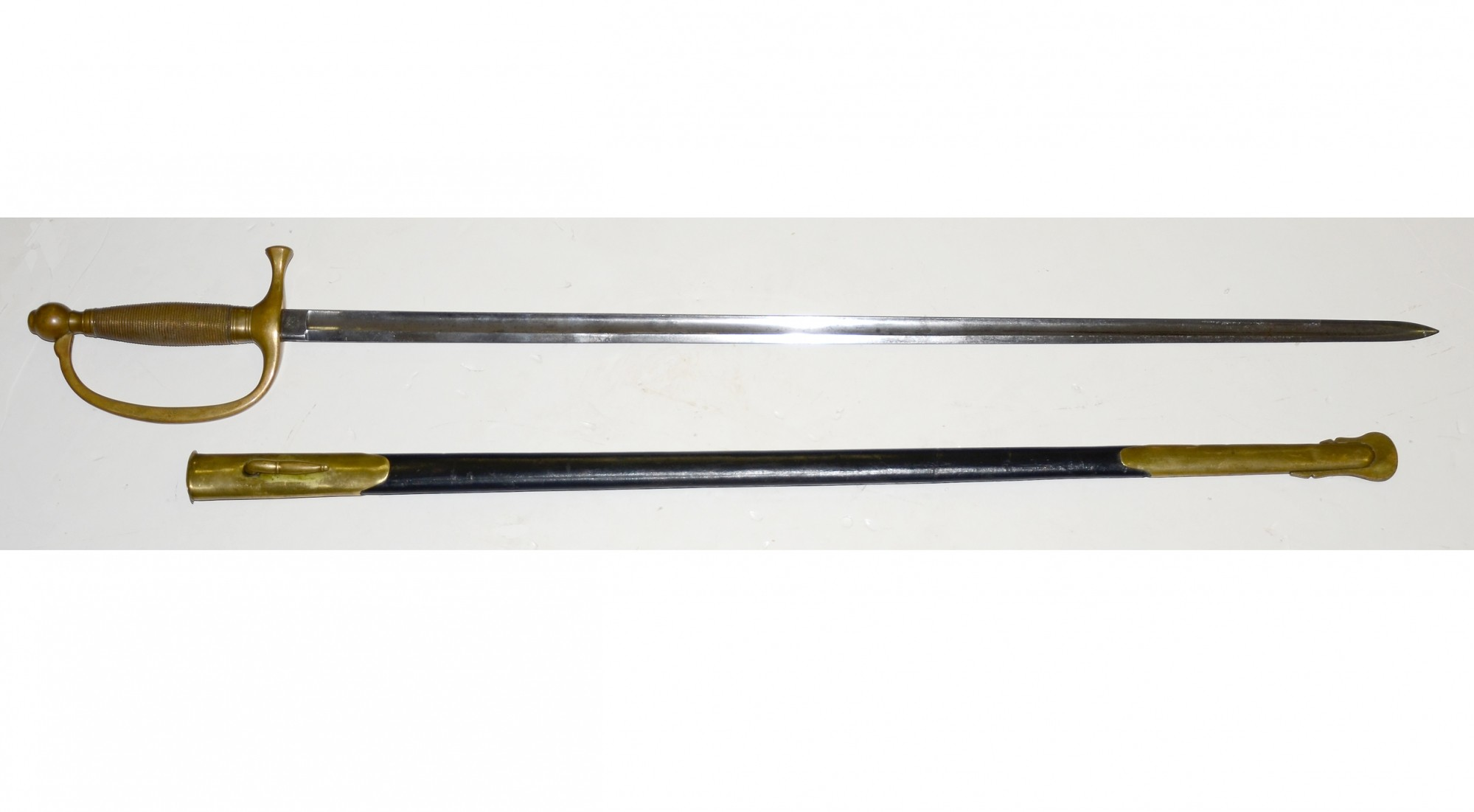 US MODEL 1840 MUSICIAN'S SWORD, AMES MFG  COMPANY, DATED