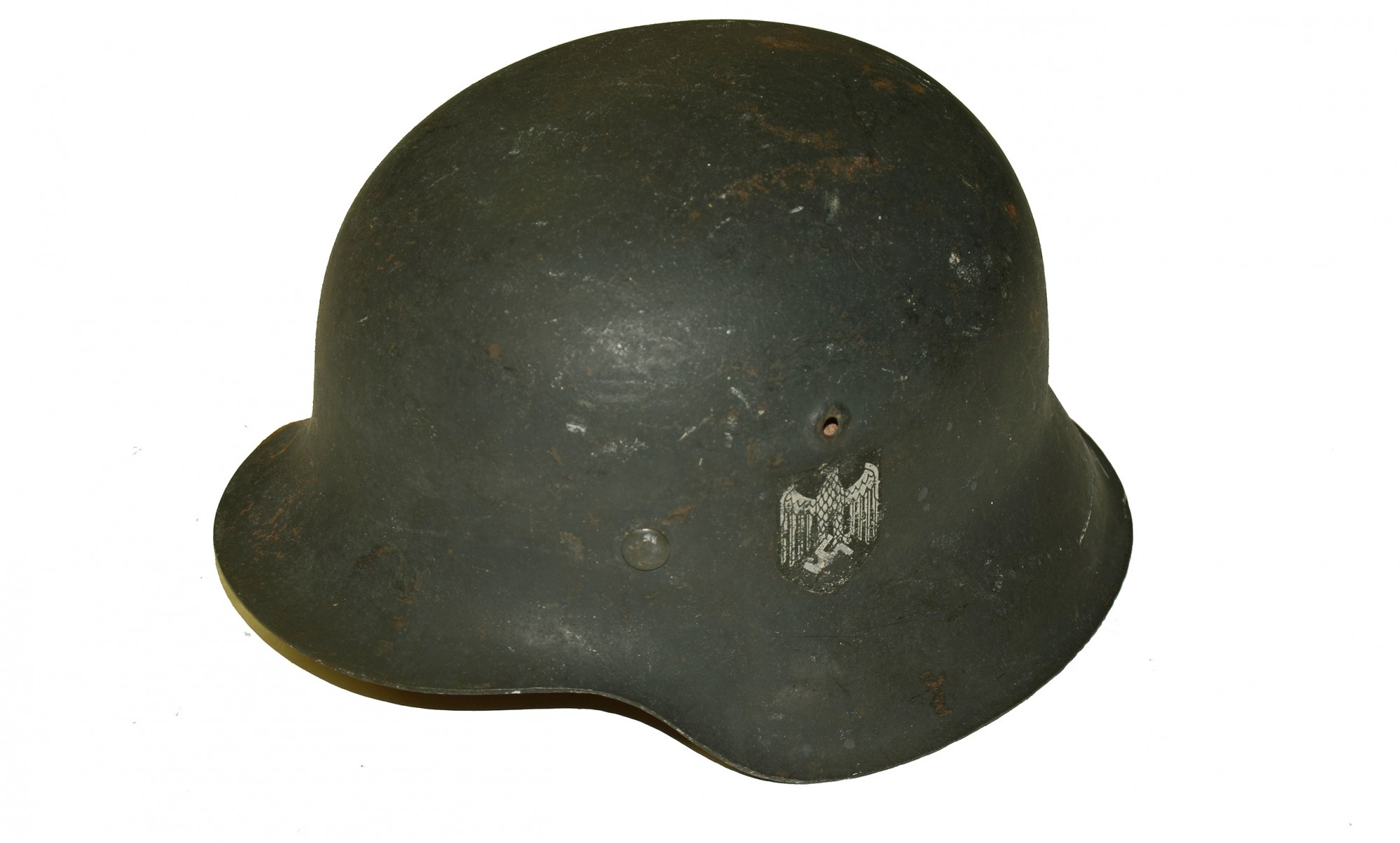 MODEL 1942 SINGLE DECAL GERMAN ARMY HELMET